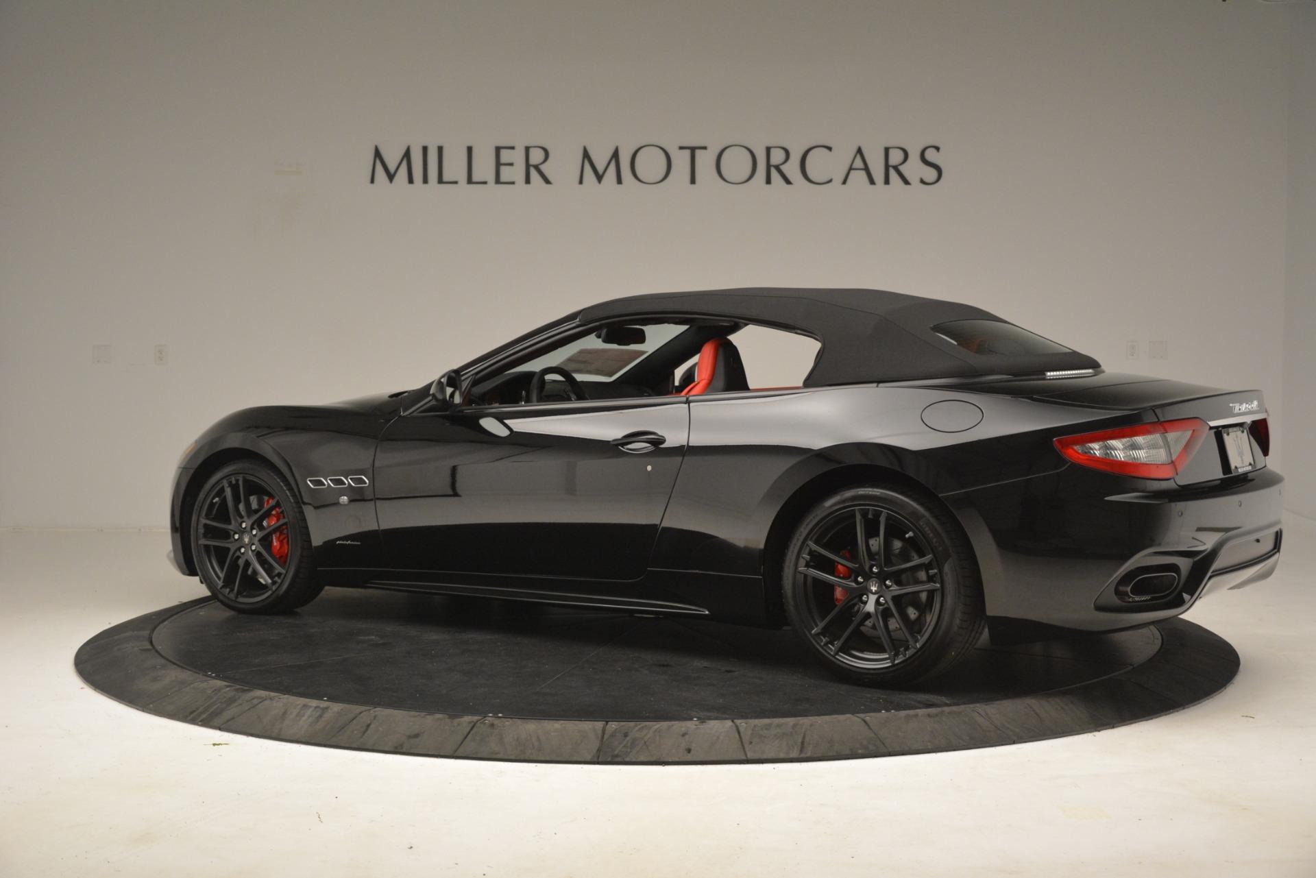 New 2018 Maserati GranTurismo Sport Convertible For Sale In Westport, CT 3137_p8