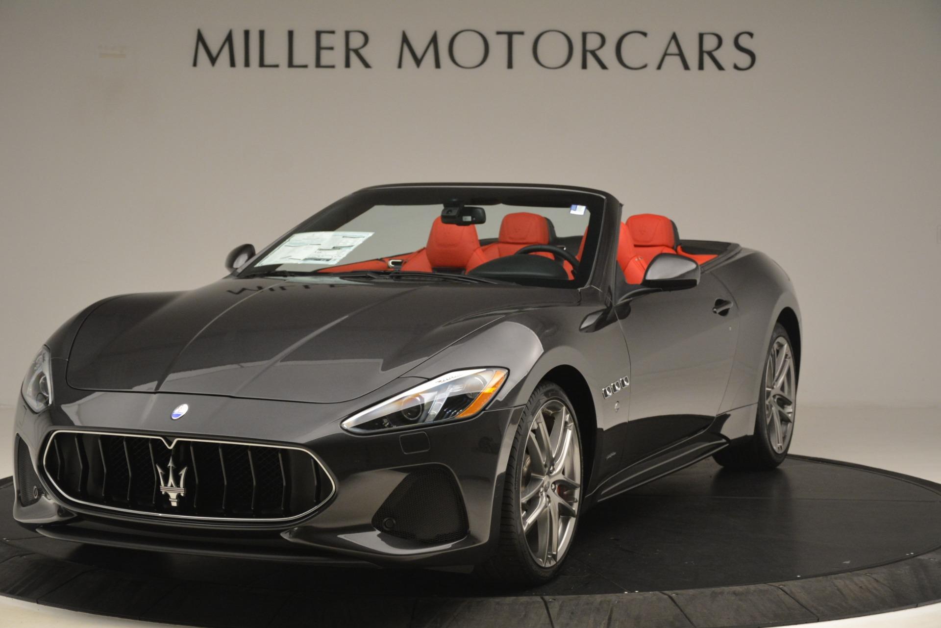 New 2018 Maserati GranTurismo Sport Convertible For Sale In Westport, CT 3138_main
