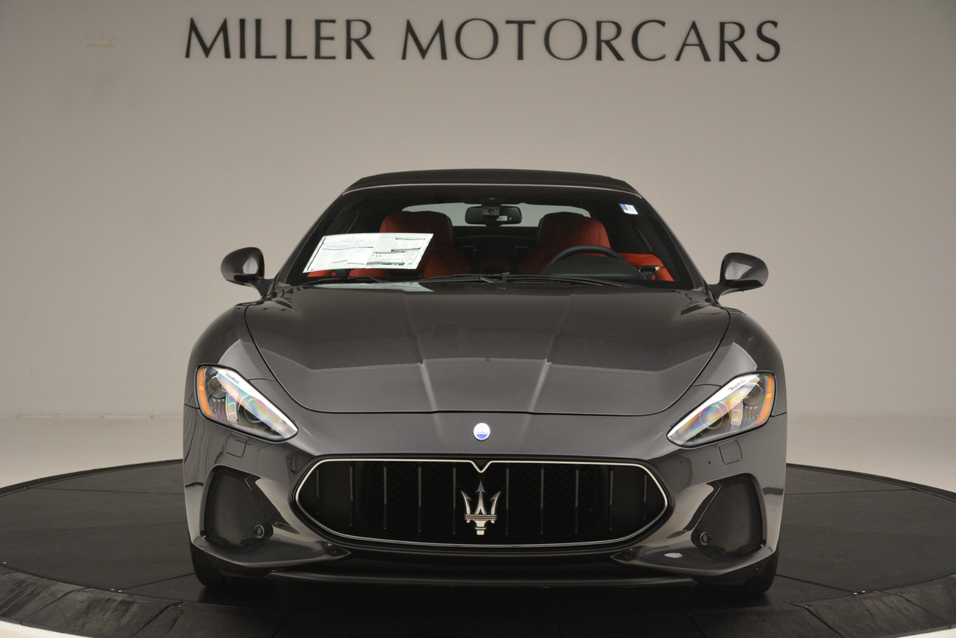 New 2018 Maserati GranTurismo Sport Convertible For Sale In Westport, CT 3138_p24