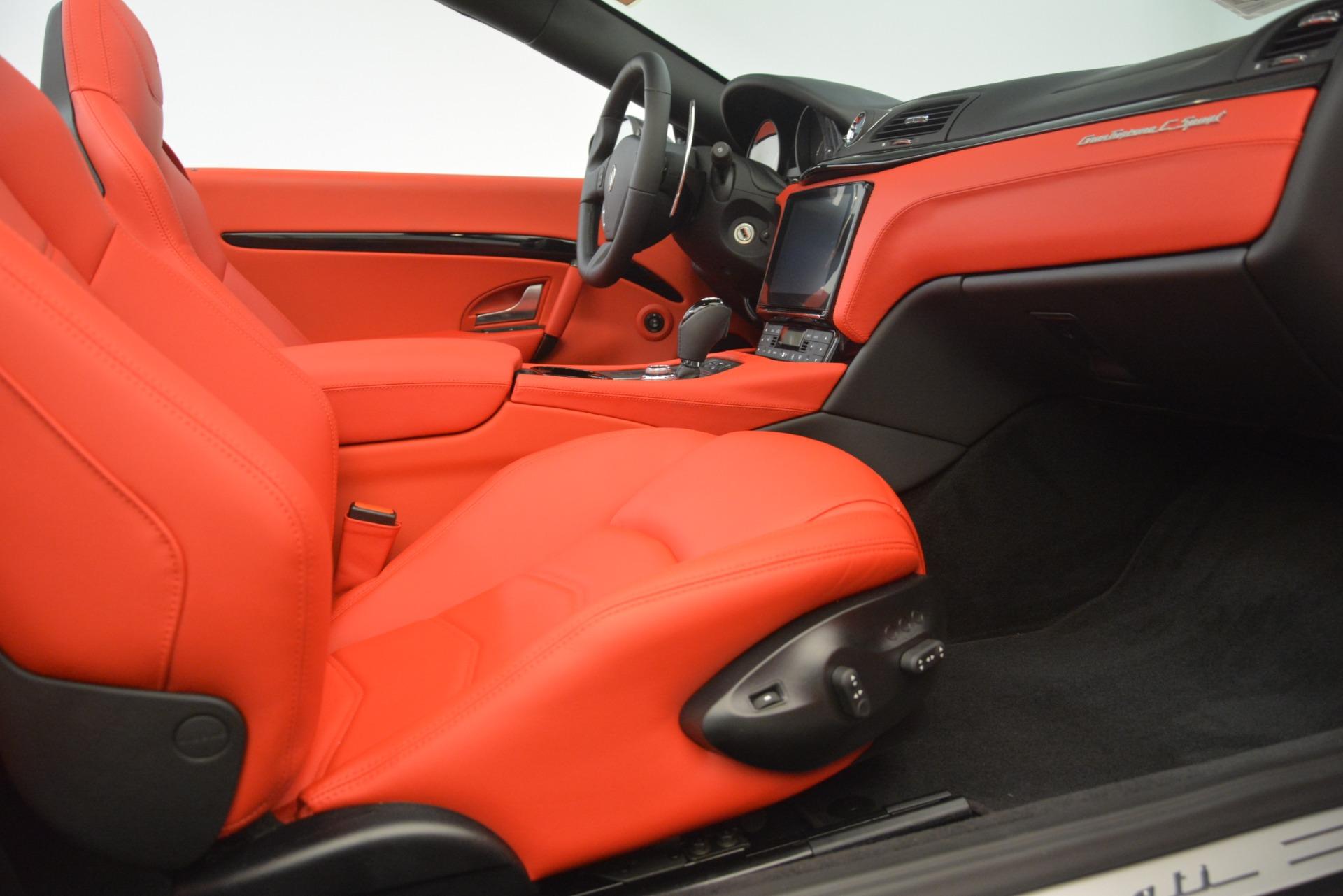 New 2018 Maserati GranTurismo Sport Convertible For Sale In Westport, CT 3138_p33