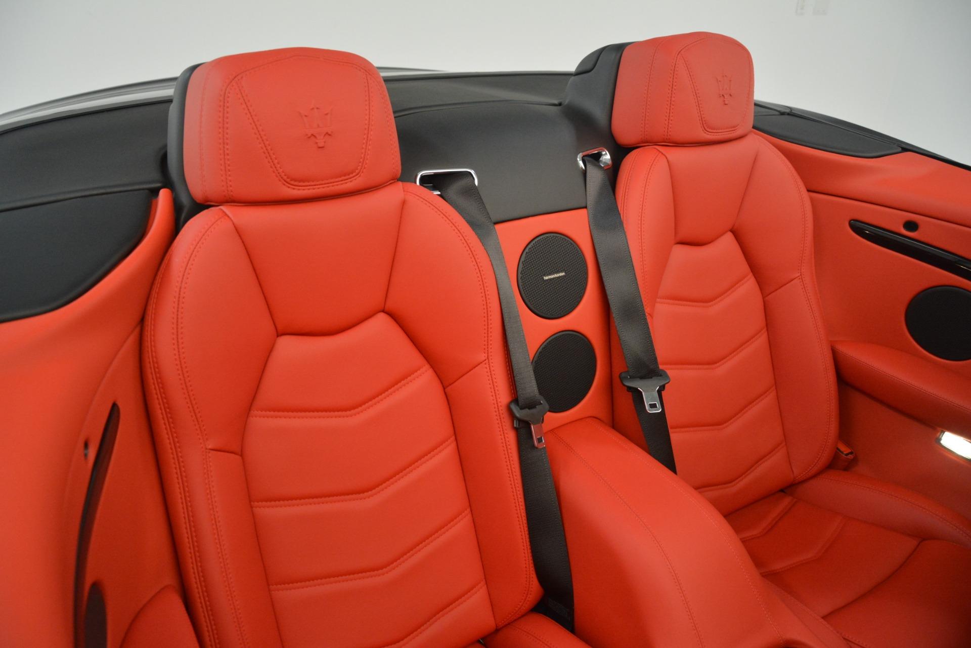 New 2018 Maserati GranTurismo Sport Convertible For Sale In Westport, CT 3138_p36
