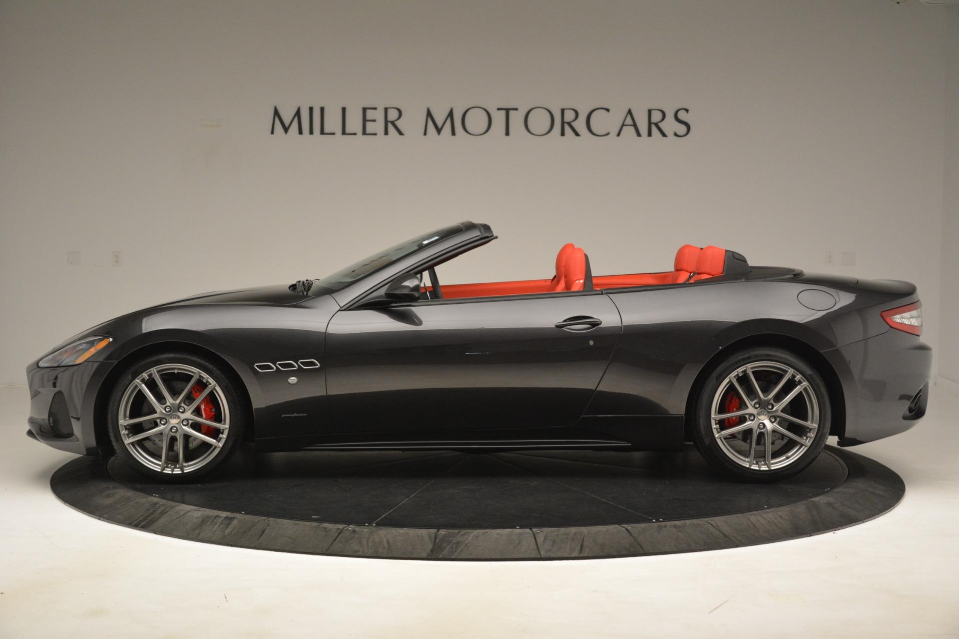 New 2018 Maserati GranTurismo Sport Convertible For Sale In Westport, CT 3138_p5