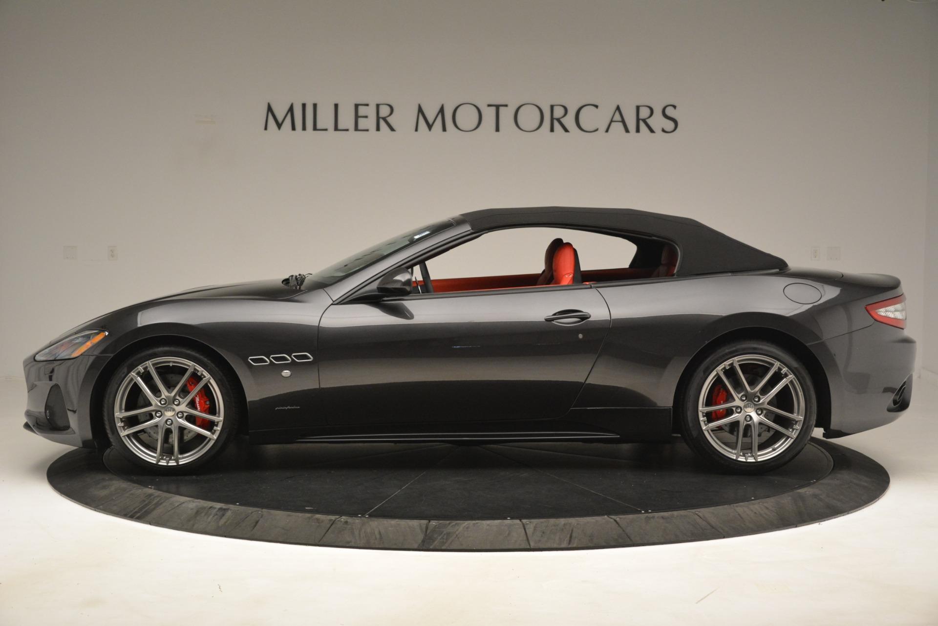 New 2018 Maserati GranTurismo Sport Convertible For Sale In Westport, CT 3138_p6