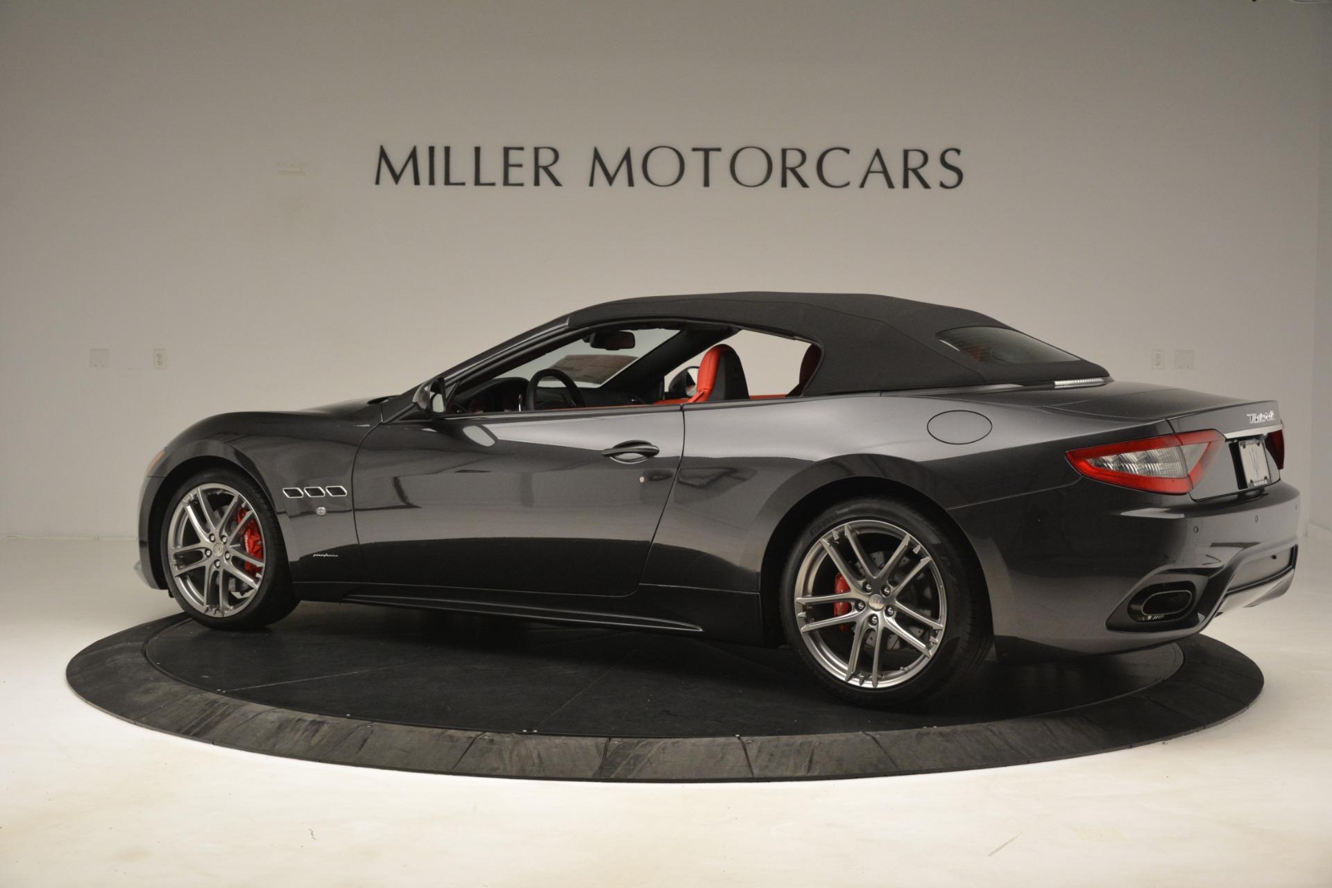 New 2018 Maserati GranTurismo Sport Convertible For Sale In Westport, CT 3138_p8