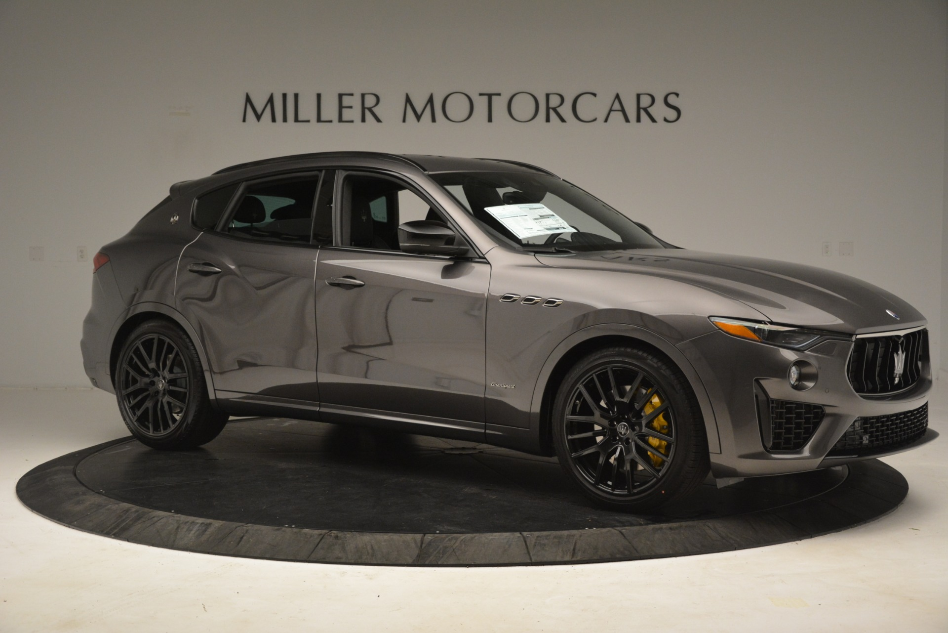 New 2019 Maserati Levante SQ4 GranSport Nerissimo For Sale In Westport, CT 3146_p10