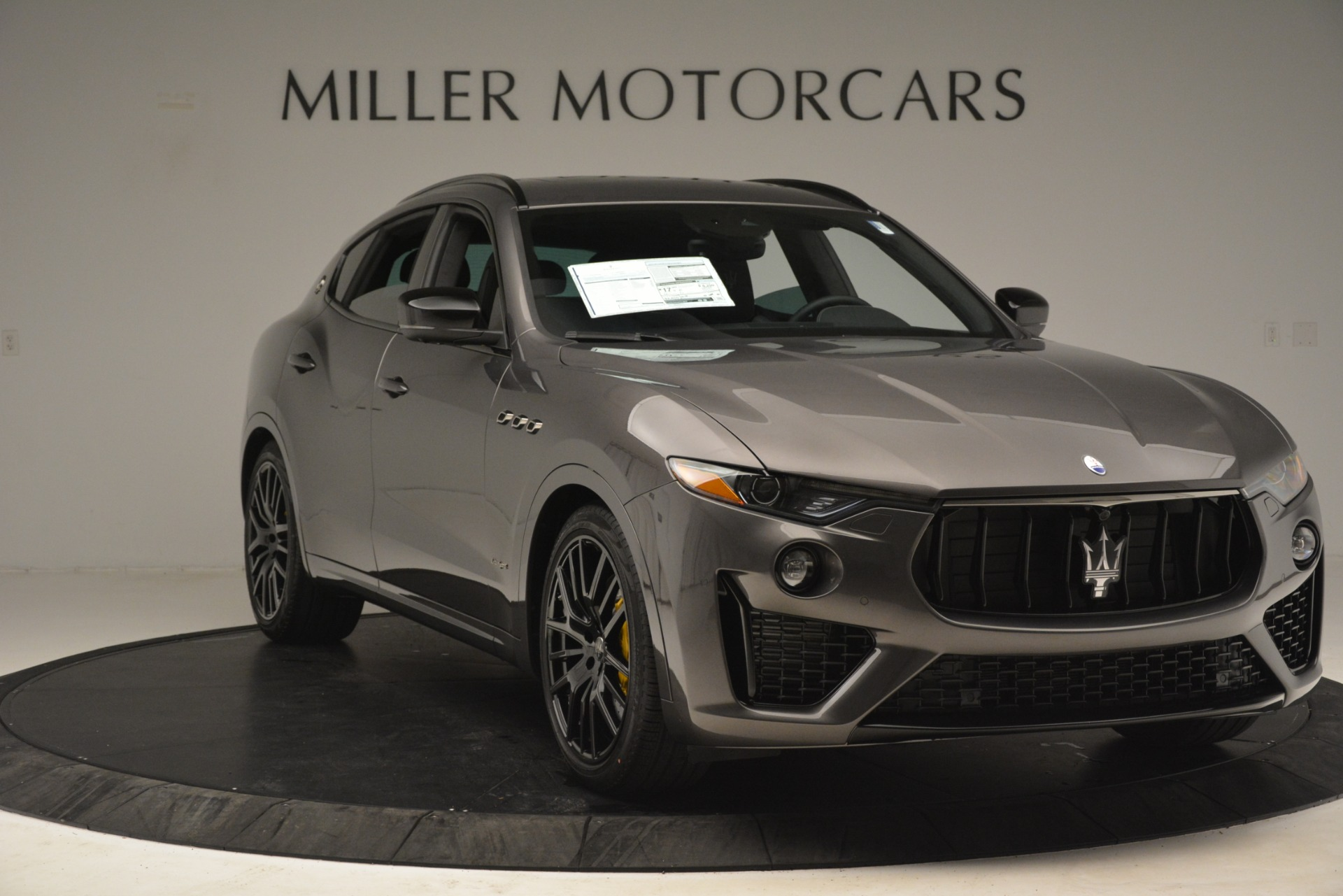 New 2019 Maserati Levante SQ4 GranSport Nerissimo For Sale In Westport, CT 3146_p11