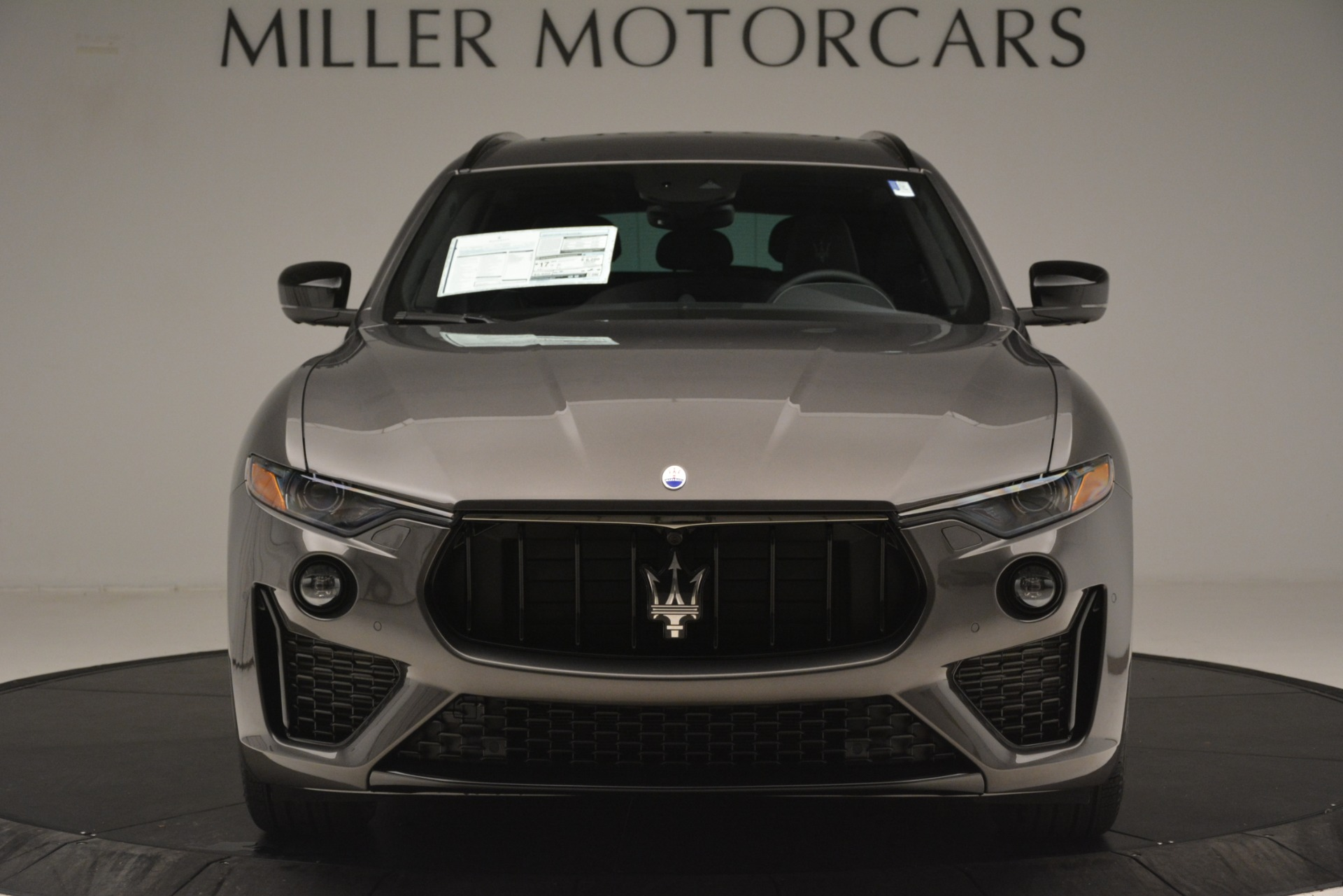 New 2019 Maserati Levante SQ4 GranSport Nerissimo For Sale In Westport, CT 3146_p12
