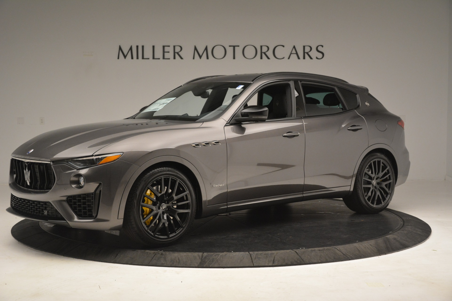 New 2019 Maserati Levante SQ4 GranSport Nerissimo For Sale In Westport, CT 3146_p2