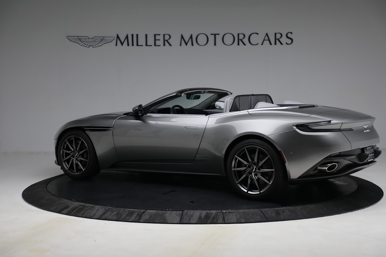 New 2019 Aston Martin DB11 V8 Convertible For Sale In Westport, CT 3147_p3