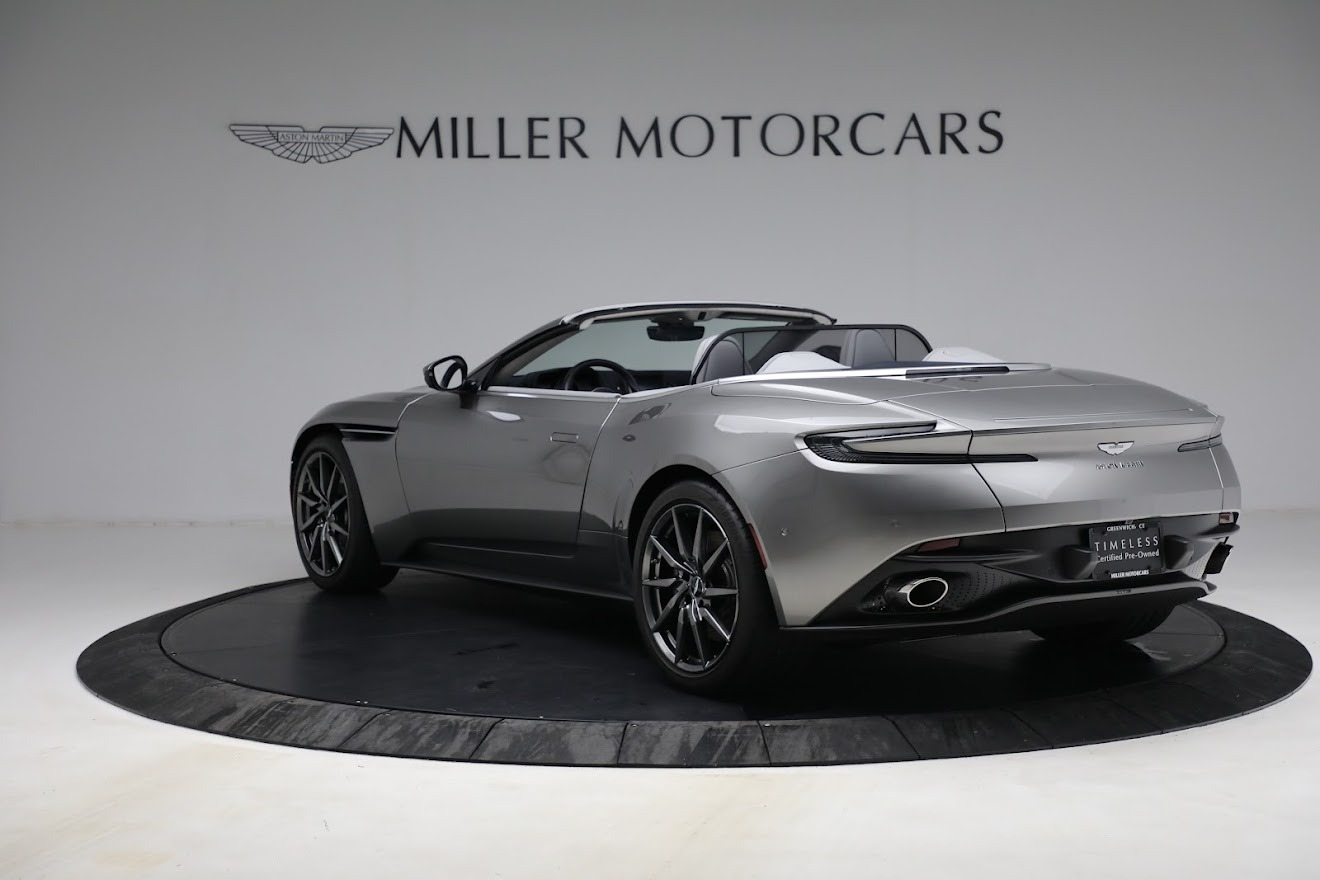 New 2019 Aston Martin DB11 V8 Convertible For Sale In Westport, CT 3147_p5