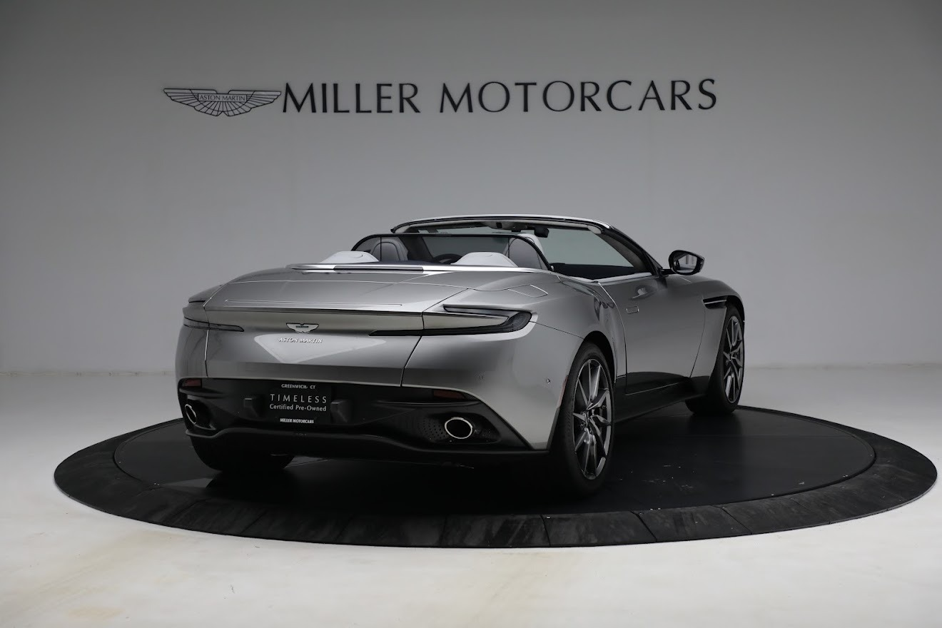New 2019 Aston Martin DB11 V8 Convertible For Sale In Westport, CT 3147_p7
