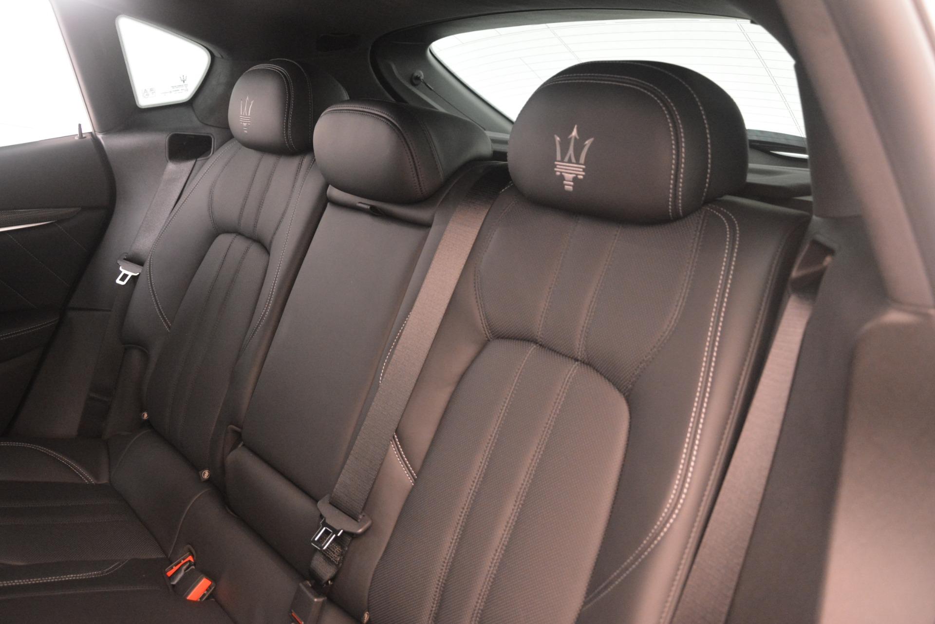 New 2019 Maserati Levante S Q4 GranSport For Sale In Westport, CT 3151_p18