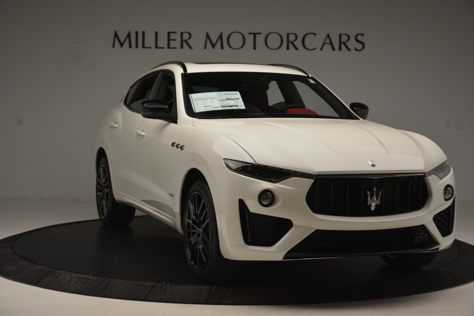 New 2019 Maserati Levante S Q4 GranSport For Sale In Westport, CT 3155_p11
