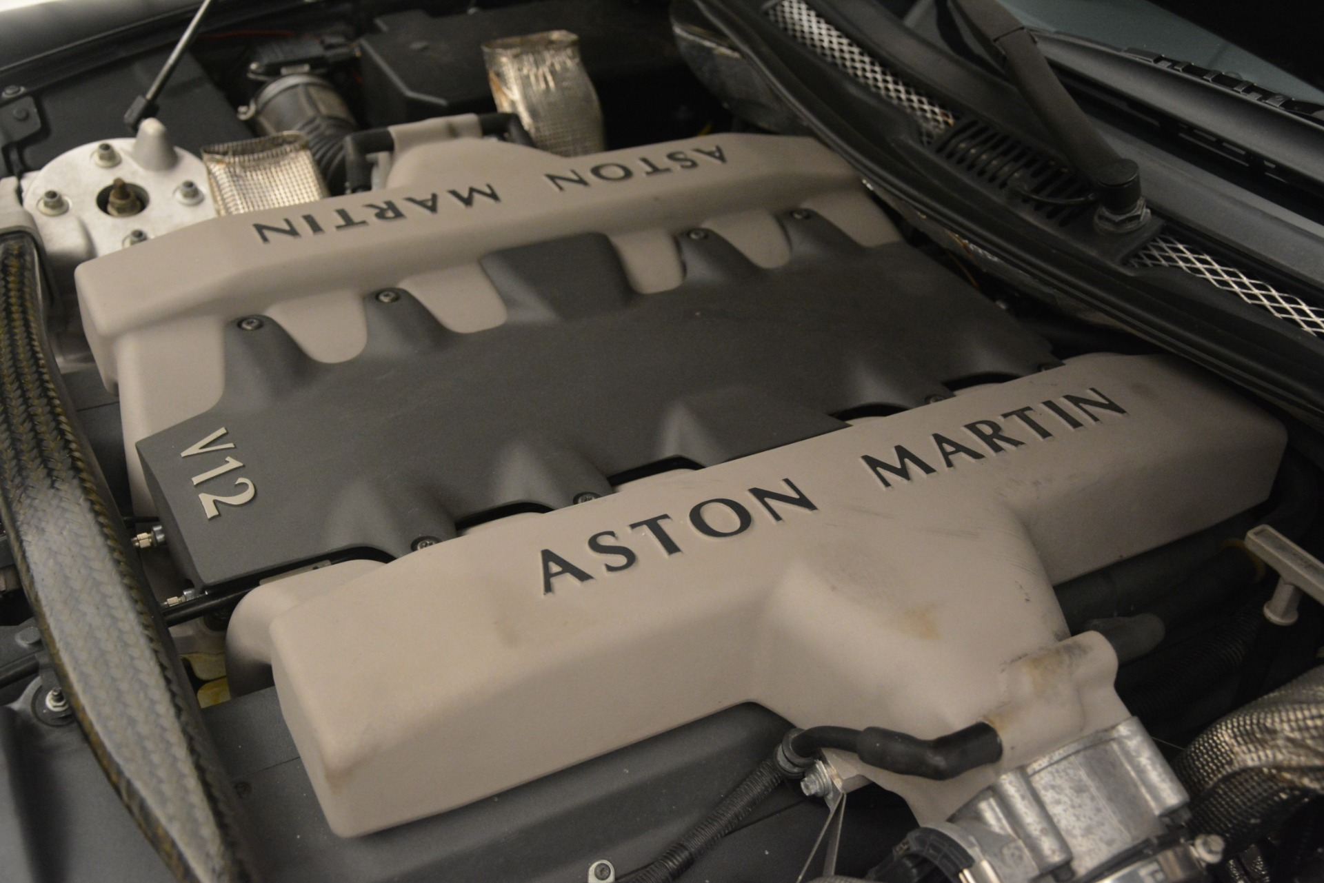 Used 2004 Aston Martin V12 Vanquish  For Sale In Westport, CT 3160_p21
