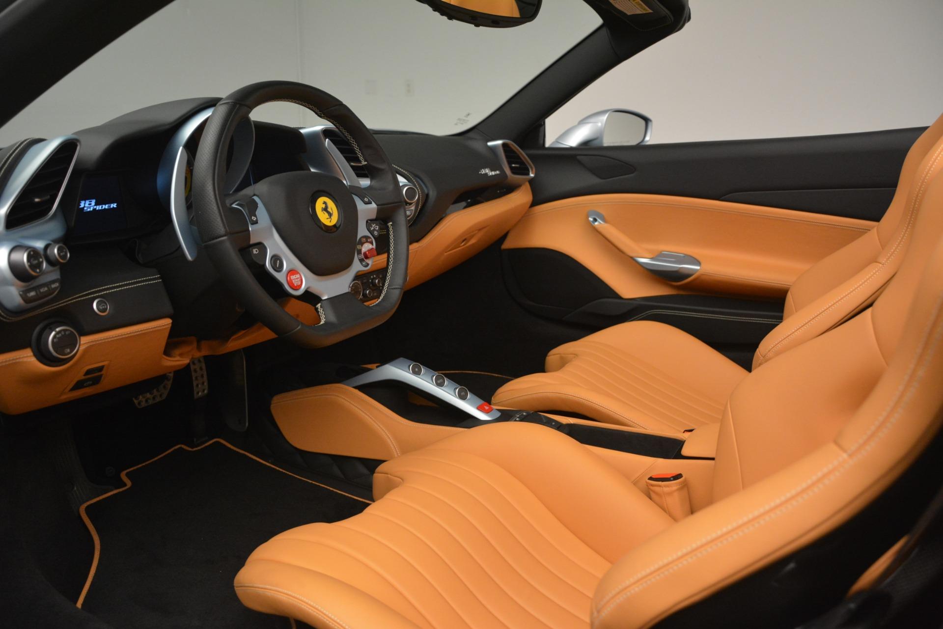 Used 2018 Ferrari 488 Spider  For Sale In Westport, CT 3168_p21
