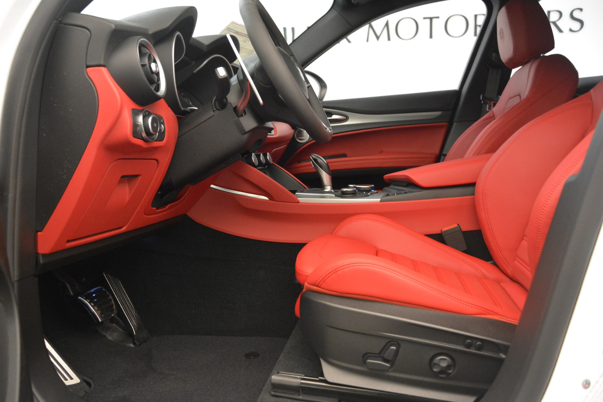 New 2019 Alfa Romeo Stelvio Ti Sport Q4 For Sale In Westport, CT 3173_p12