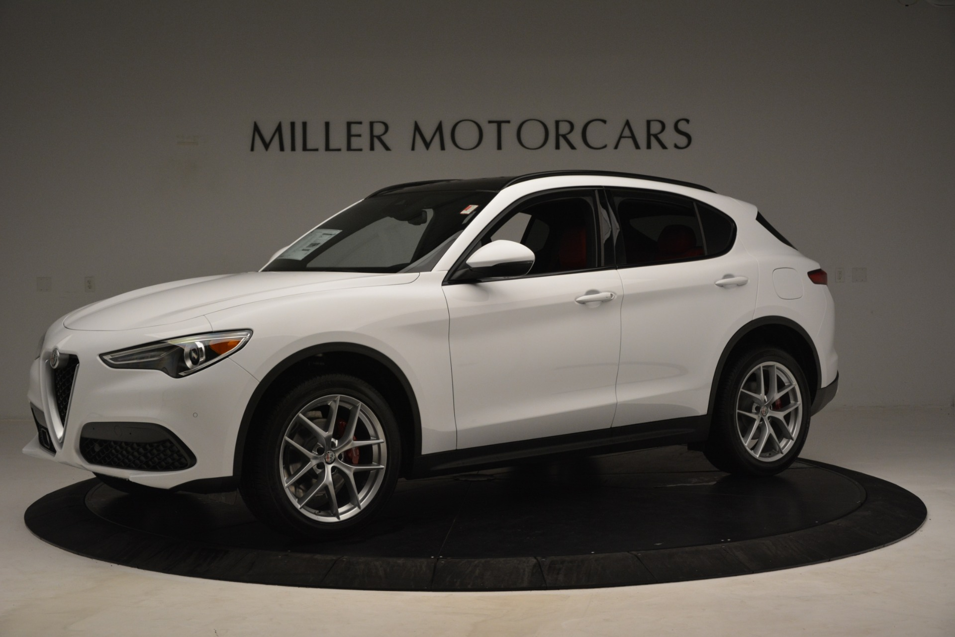 New 2019 Alfa Romeo Stelvio Ti Sport Q4 For Sale In Westport, CT 3173_p2