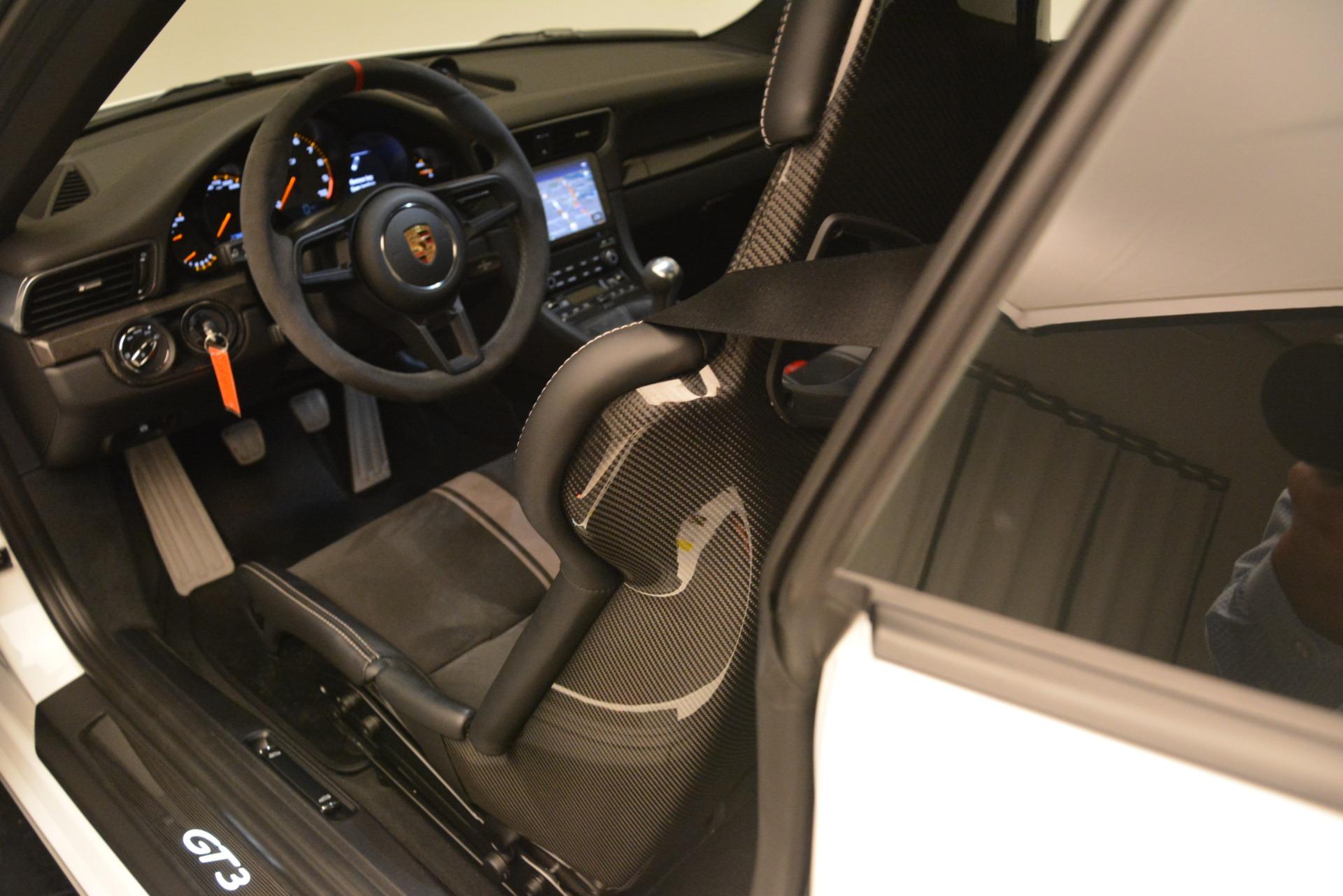 Used 2018 Porsche 911 GT3 For Sale In Westport, CT 3176_p12