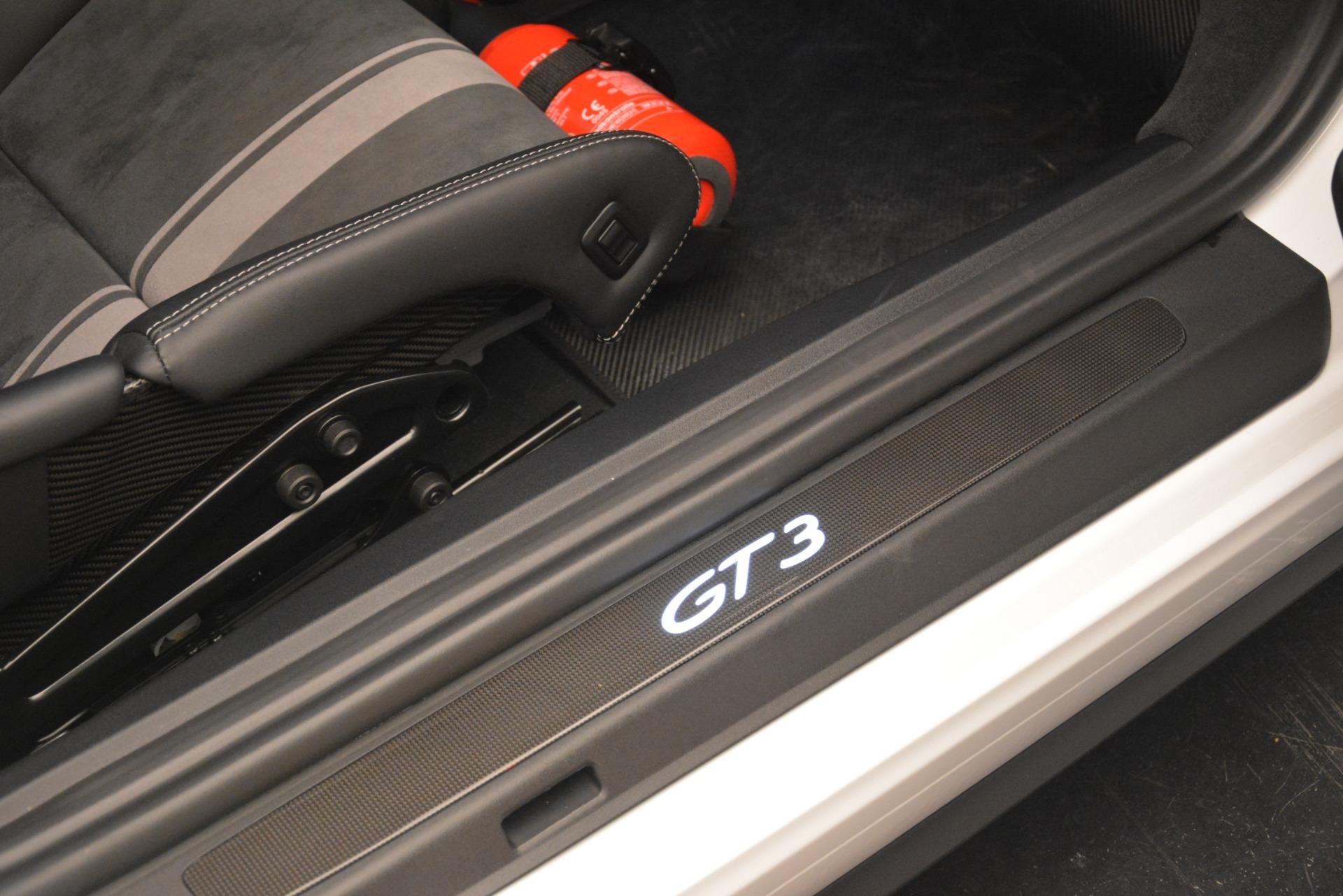 Used 2018 Porsche 911 GT3 For Sale In Westport, CT 3176_p14