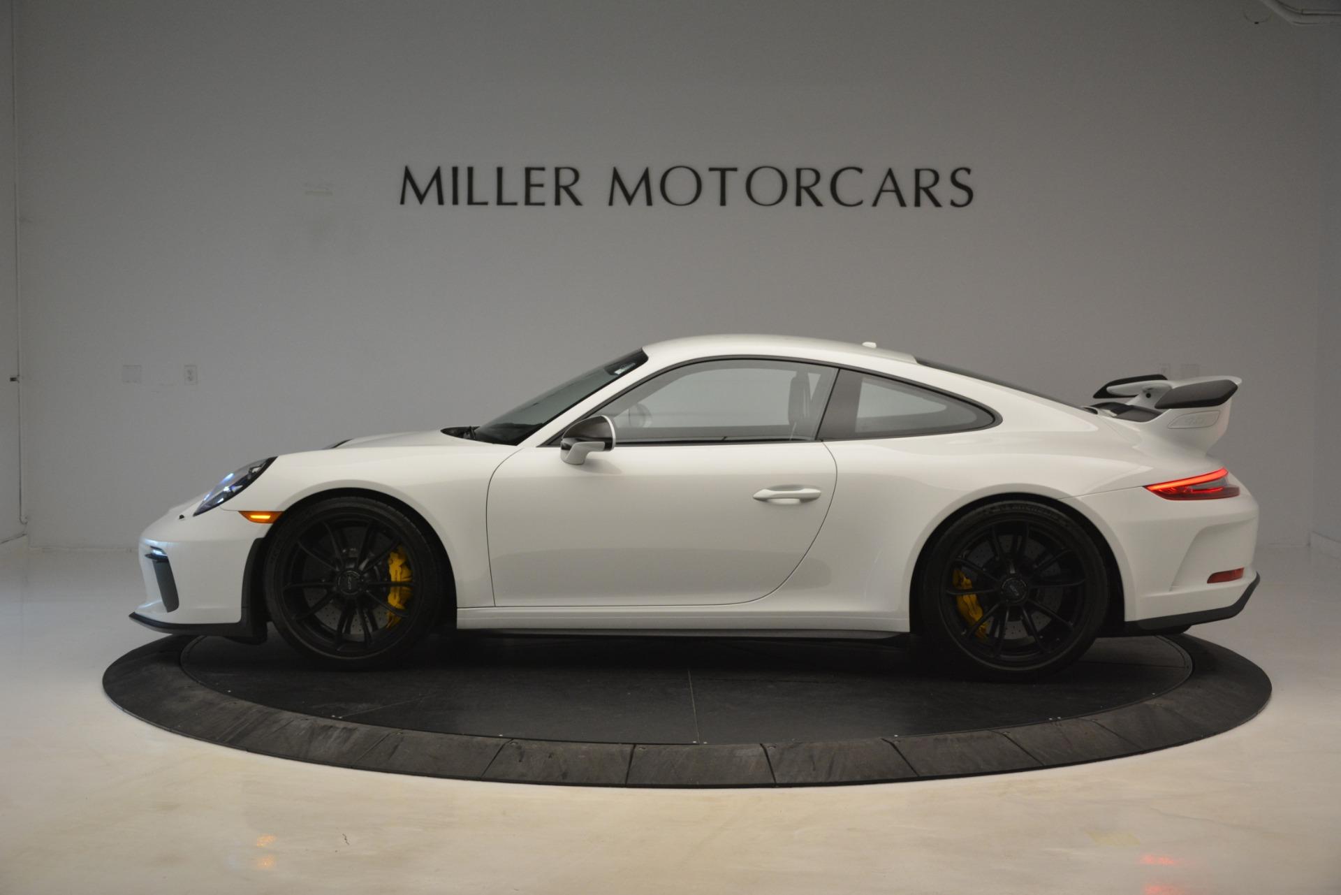 Used 2018 Porsche 911 GT3 For Sale In Westport, CT 3176_p2