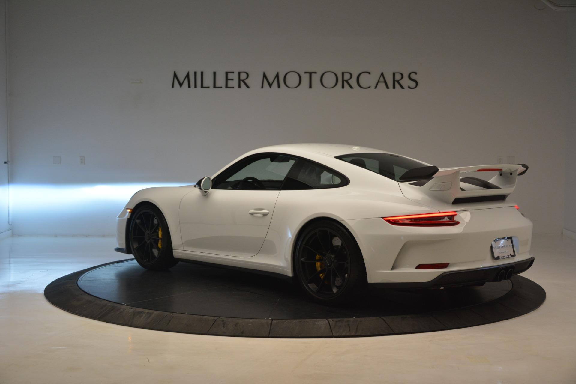 Used 2018 Porsche 911 GT3 For Sale In Westport, CT 3176_p3