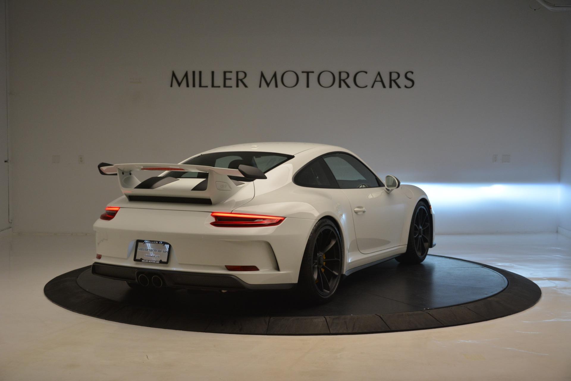 Used 2018 Porsche 911 GT3 For Sale In Westport, CT 3176_p6