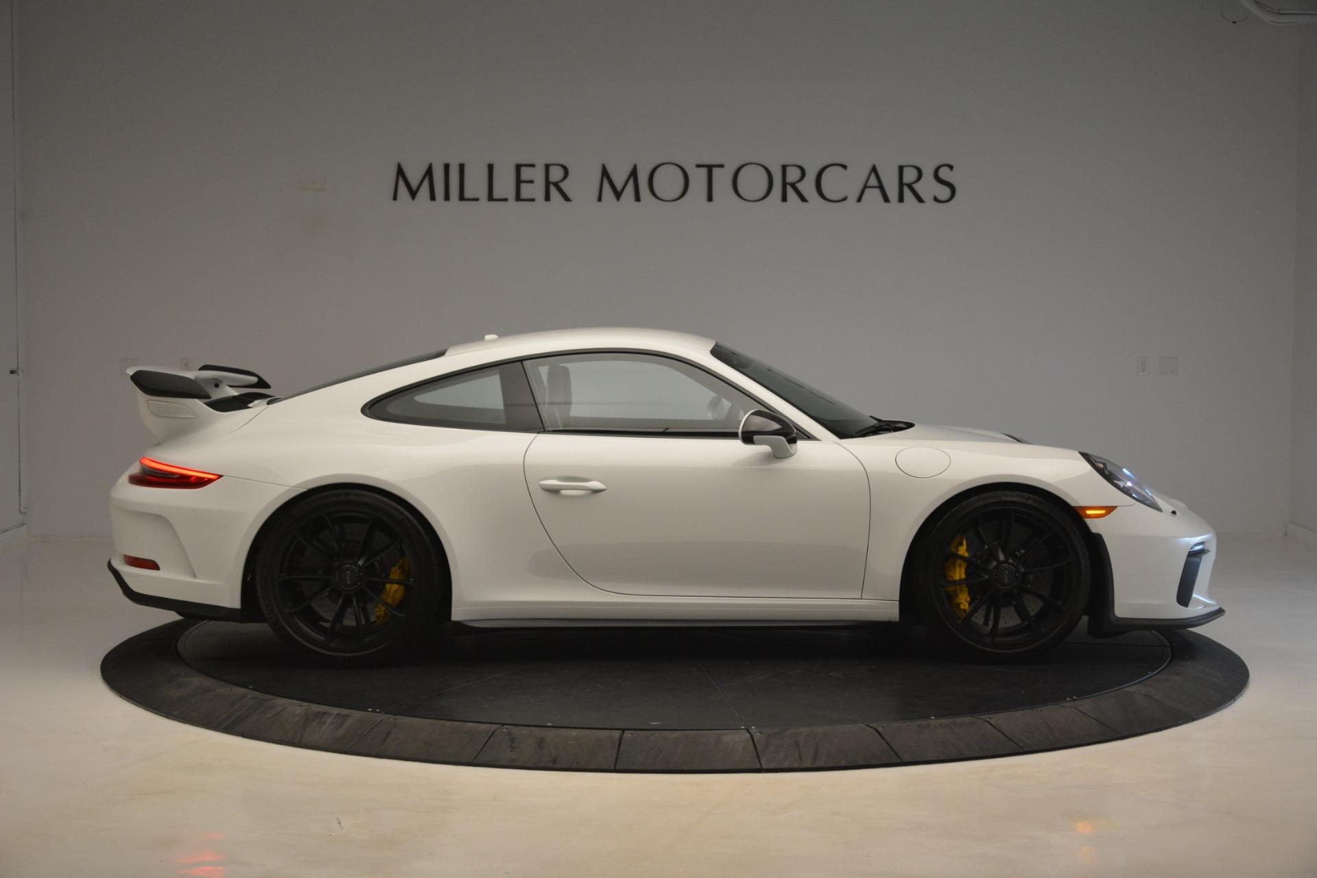 Used 2018 Porsche 911 GT3 For Sale In Westport, CT 3176_p7