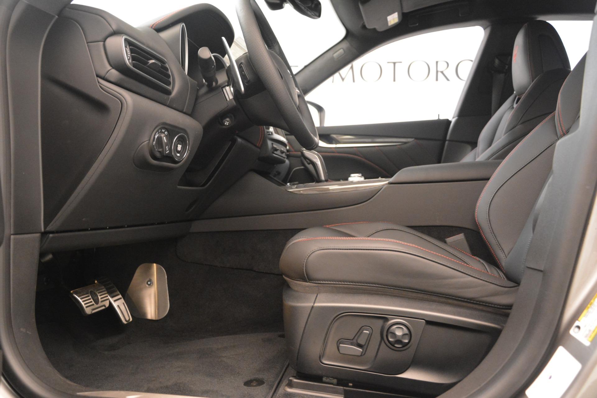New 2019 Maserati Levante SQ4 GranSport Nerissimo For Sale In Westport, CT 3177_p14