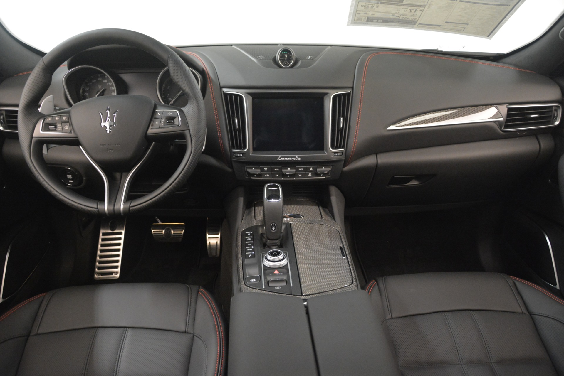 New 2019 Maserati Levante SQ4 GranSport Nerissimo For Sale In Westport, CT 3177_p16