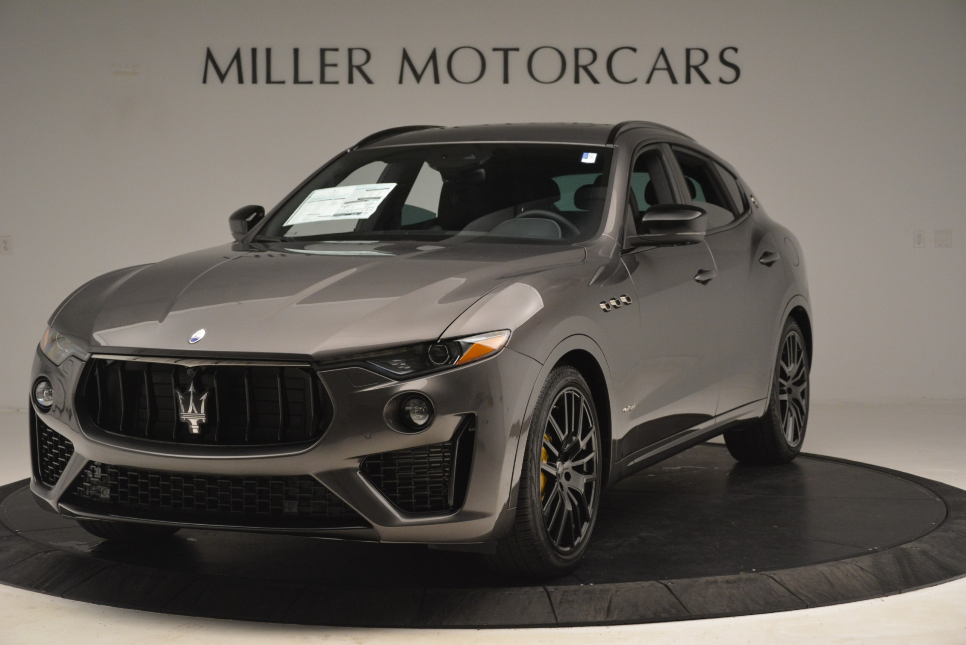 New 2019 Maserati Levante SQ4 GranSport Nerissimo For Sale In Westport, CT 3178_main