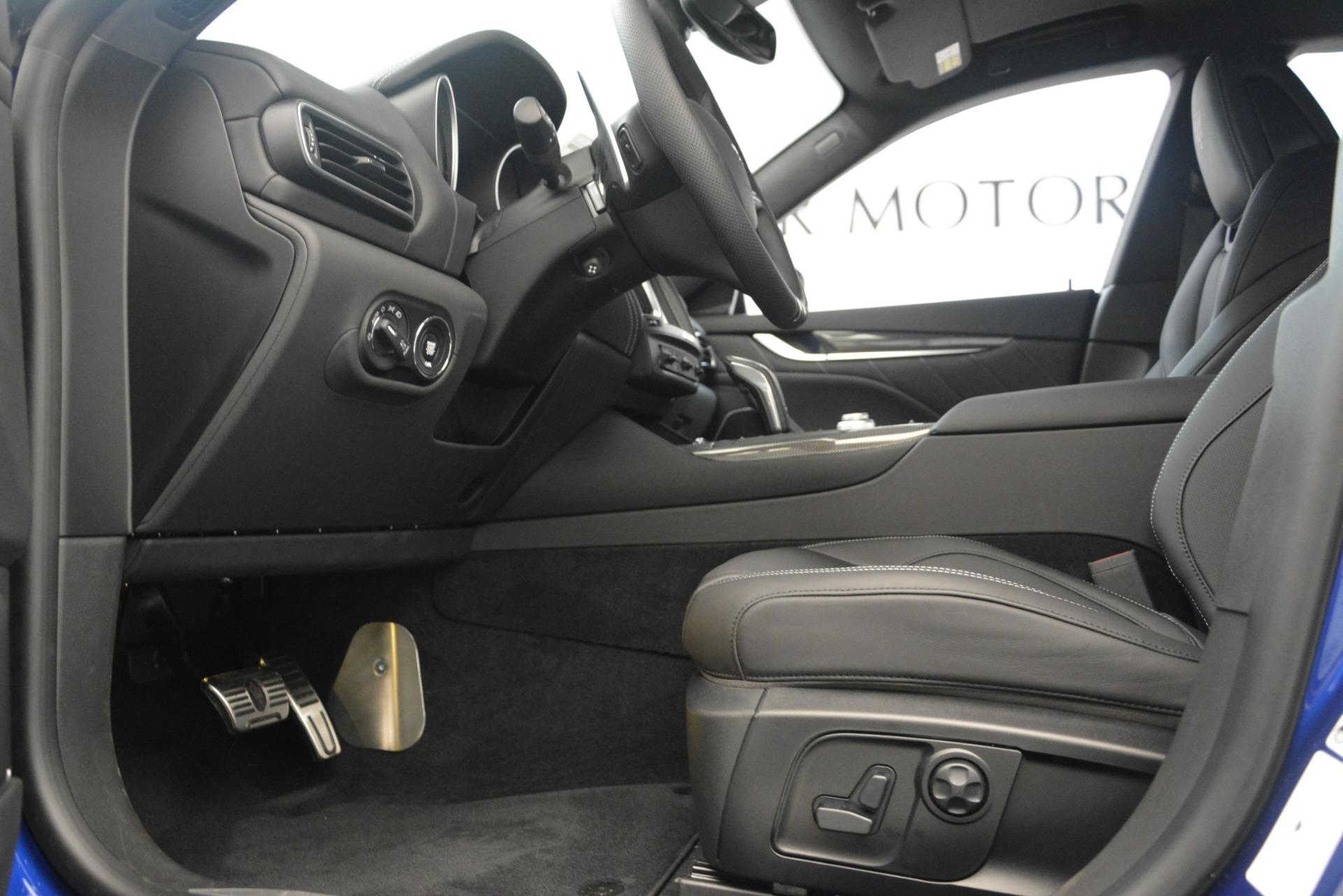 New 2019 Maserati Levante SQ4 GranSport Nerissimo For Sale In Westport, CT 3179_p14