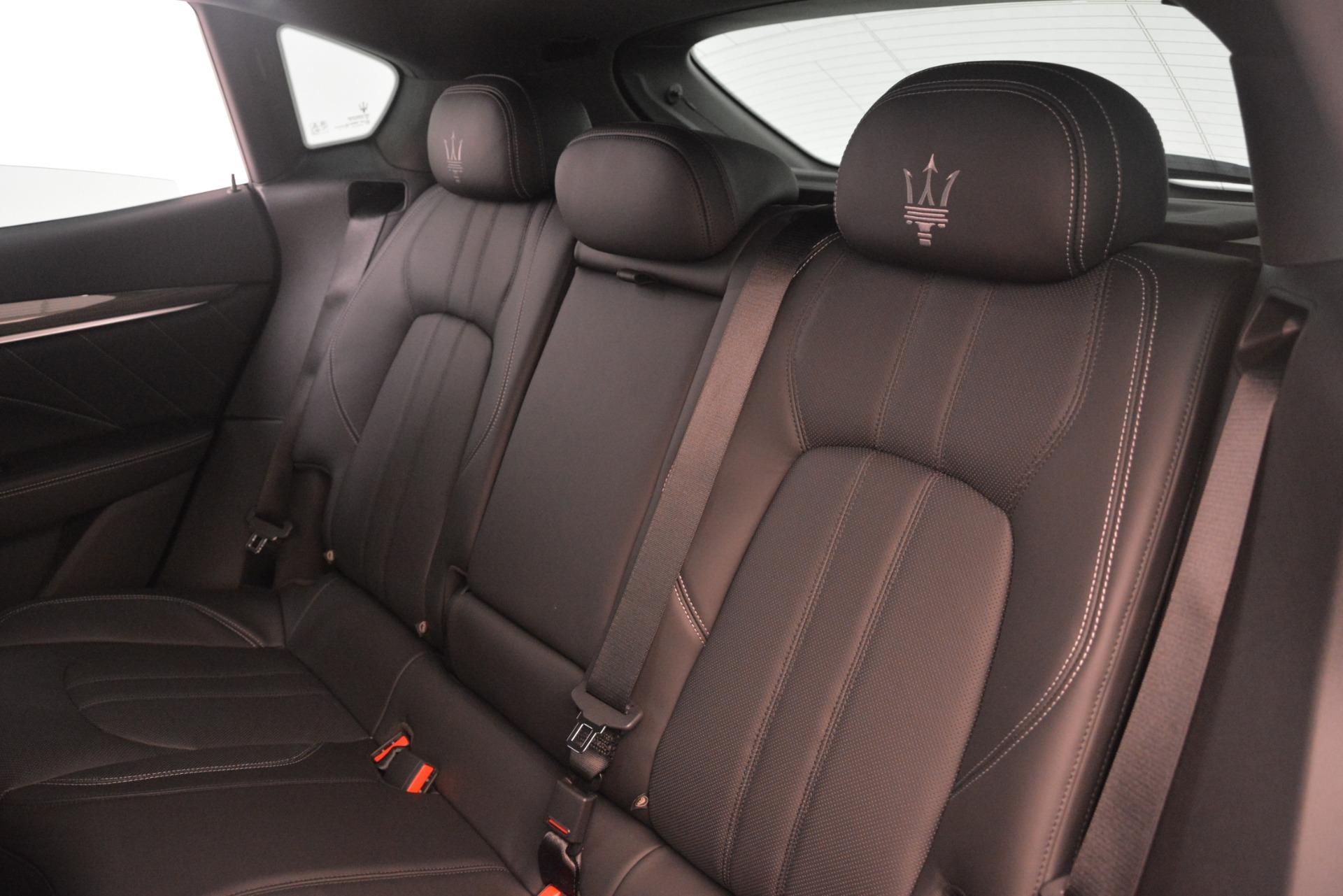 New 2019 Maserati Levante SQ4 GranSport Nerissimo For Sale In Westport, CT 3179_p18