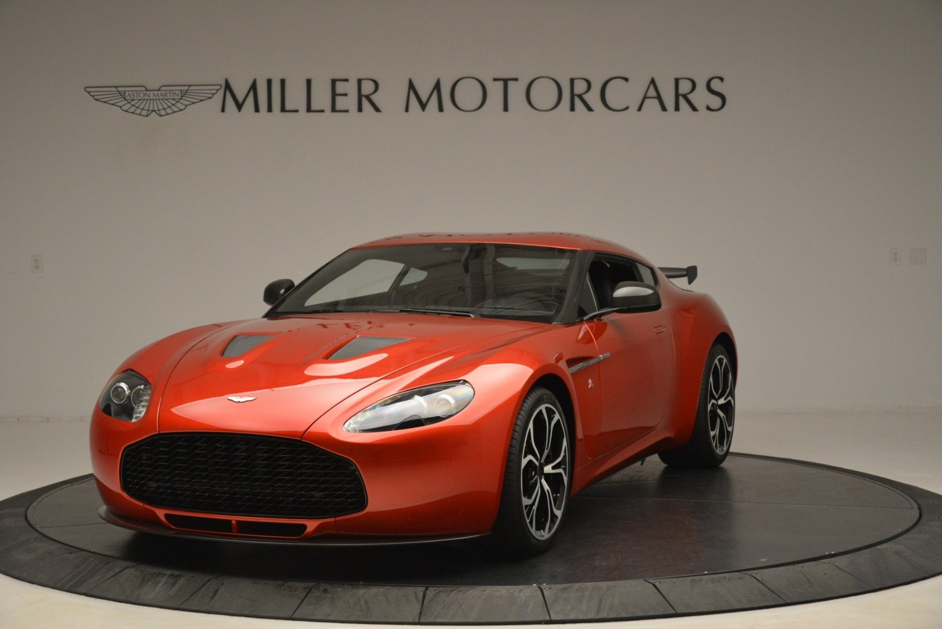 Used 2013 Aston Martin V12 Zagato Coupe For Sale In Westport, CT 3181_main