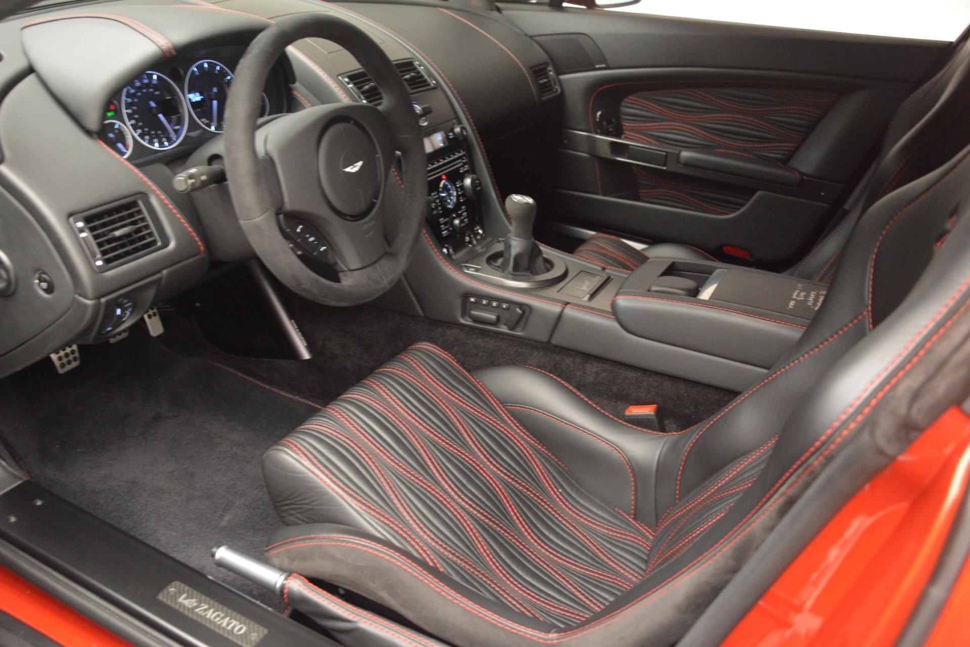Used 2013 Aston Martin V12 Zagato Coupe For Sale In Westport, CT 3181_p13