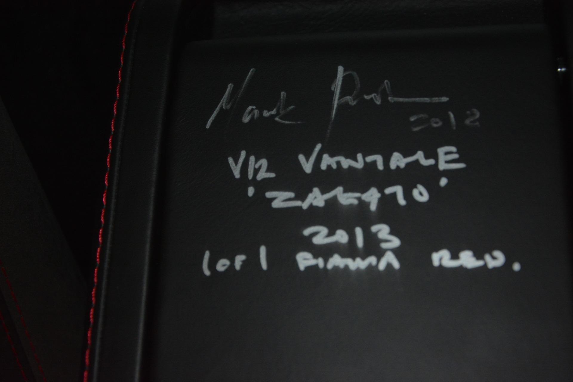 Used 2013 Aston Martin V12 Zagato Coupe For Sale In Westport, CT 3181_p25