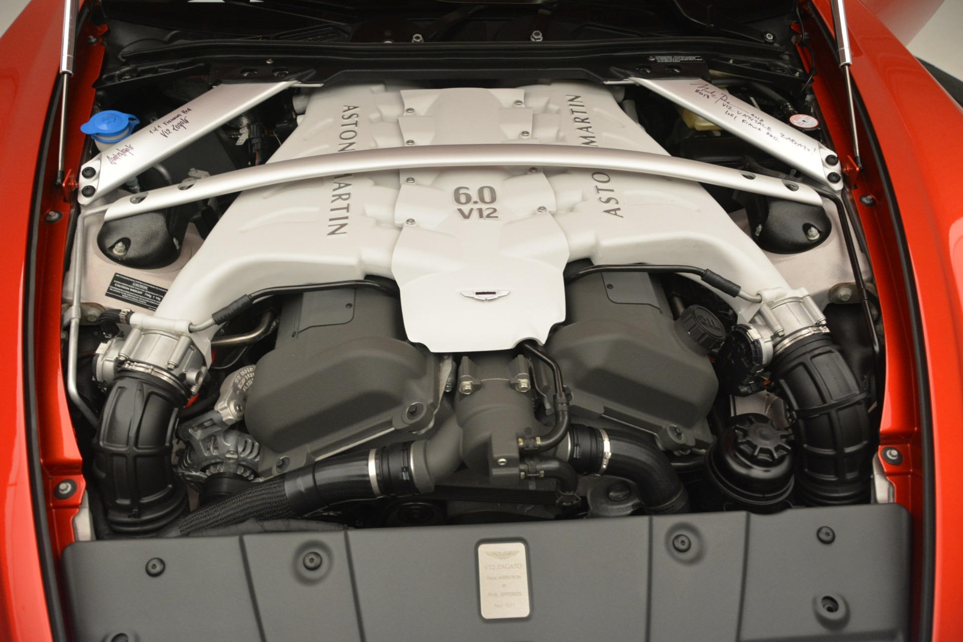 Used 2013 Aston Martin V12 Zagato Coupe For Sale In Westport, CT 3181_p26