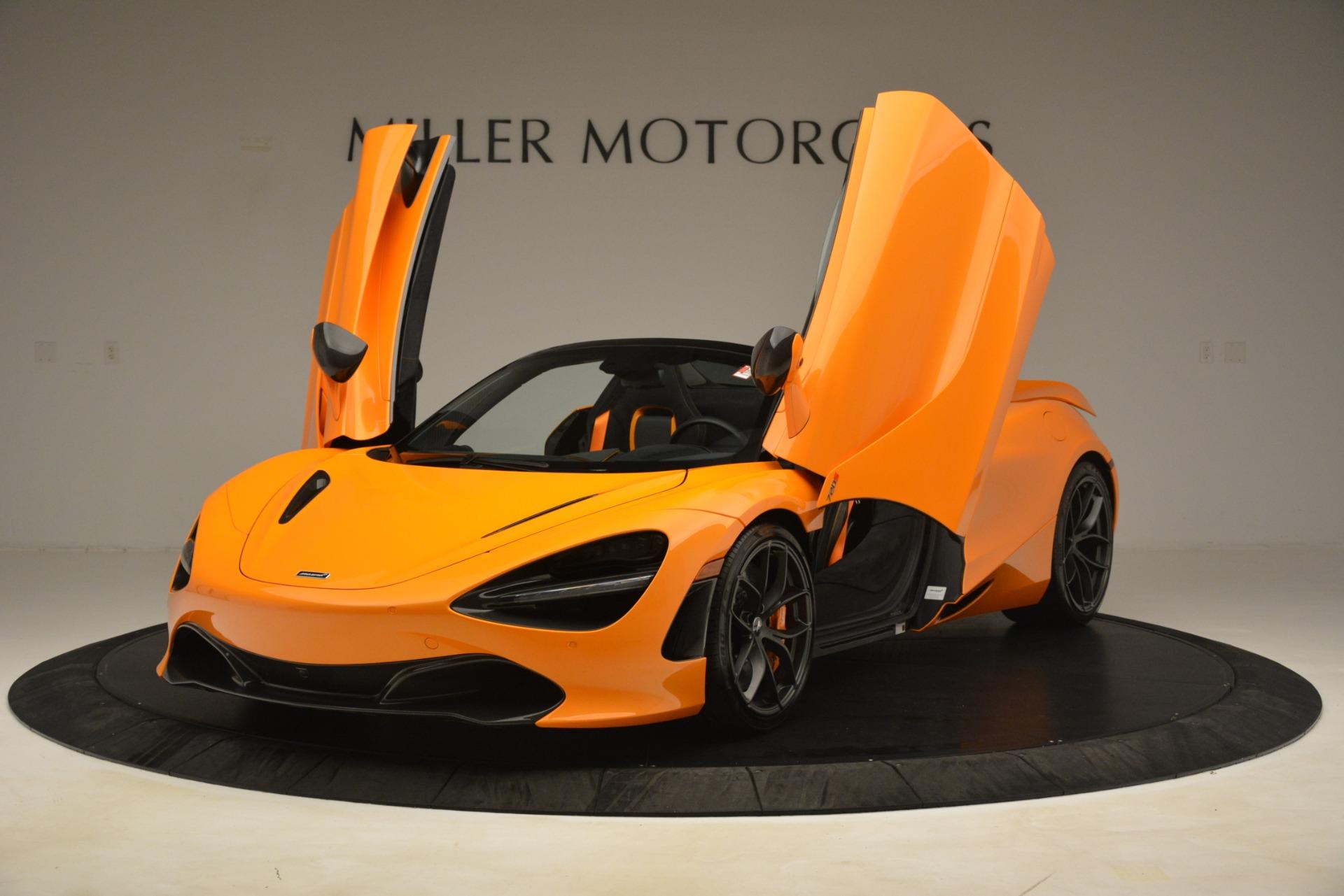 New 2020 McLaren 720S Spider Convertible For Sale In Westport, CT 3190_p10