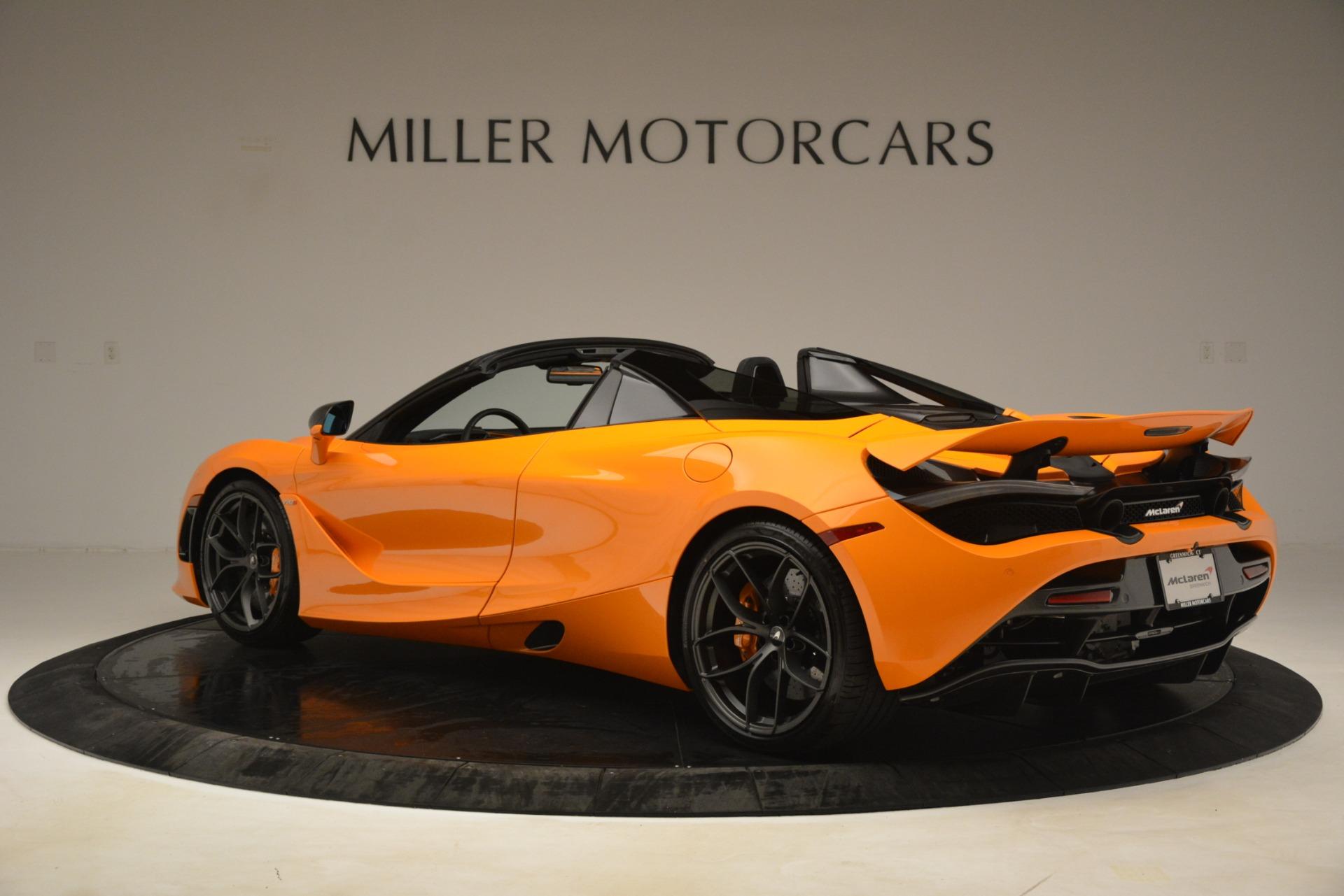 New 2020 McLaren 720S Spider Convertible For Sale In Westport, CT 3190_p2