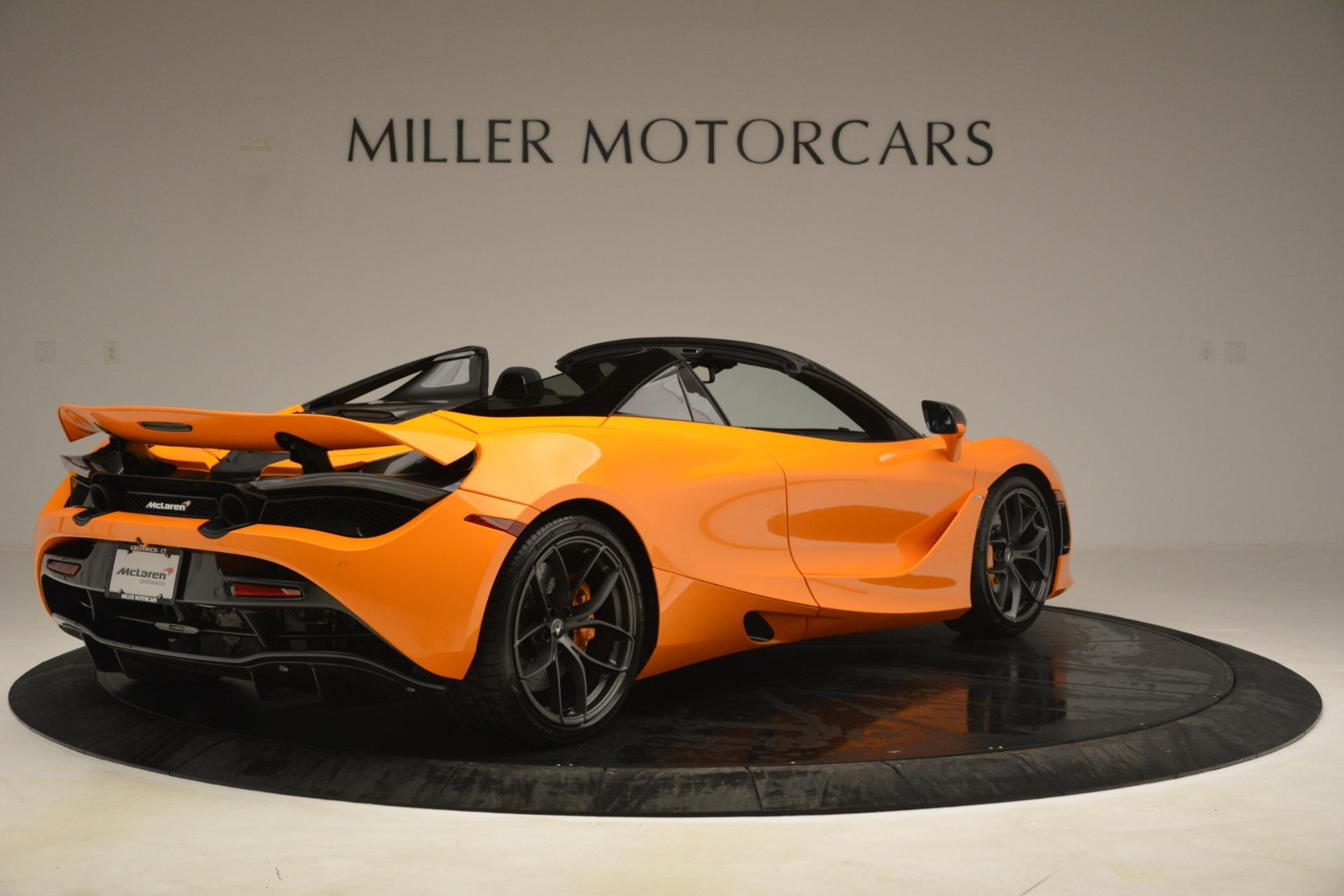 New 2020 McLaren 720S Spider Convertible For Sale In Westport, CT 3190_p5