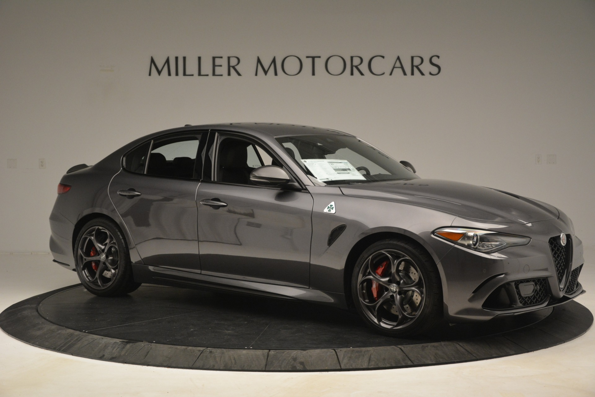 New 2019 Alfa Romeo Giulia Quadrifoglio For Sale In Westport, CT 3193_p10