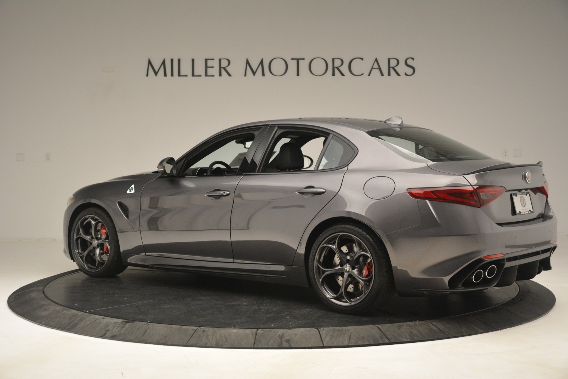New 2019 Alfa Romeo Giulia Quadrifoglio For Sale In Westport, CT 3193_p4