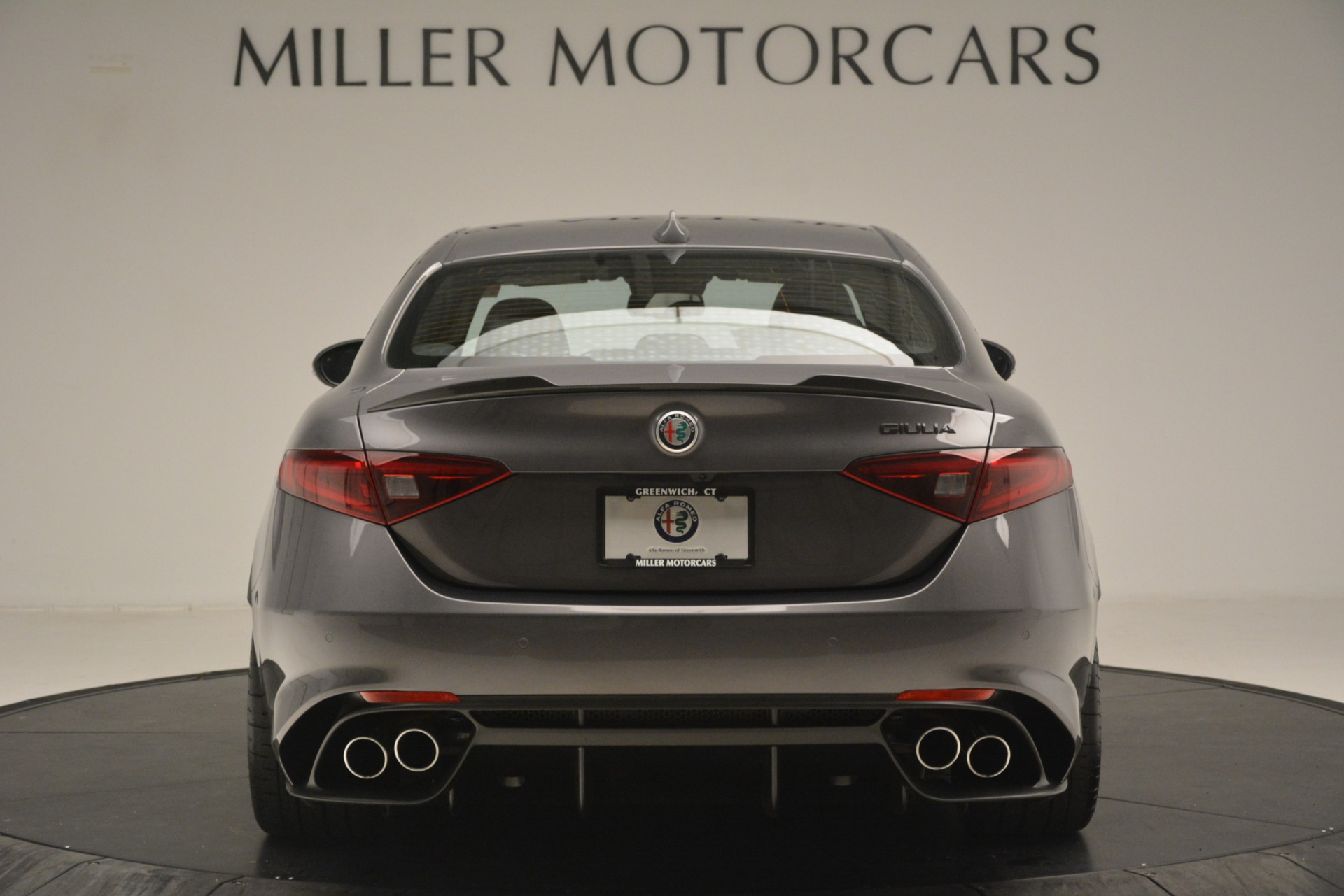 New 2019 Alfa Romeo Giulia Quadrifoglio For Sale In Westport, CT 3193_p6
