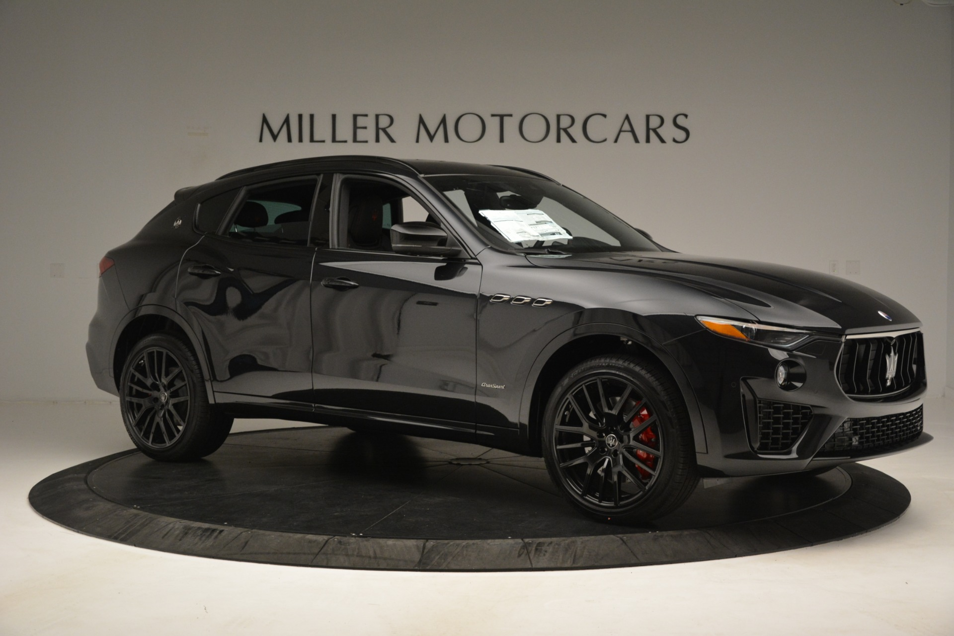 New 2019 Maserati Levante SQ4 GranSport Nerissimo For Sale In Westport, CT 3199_p10