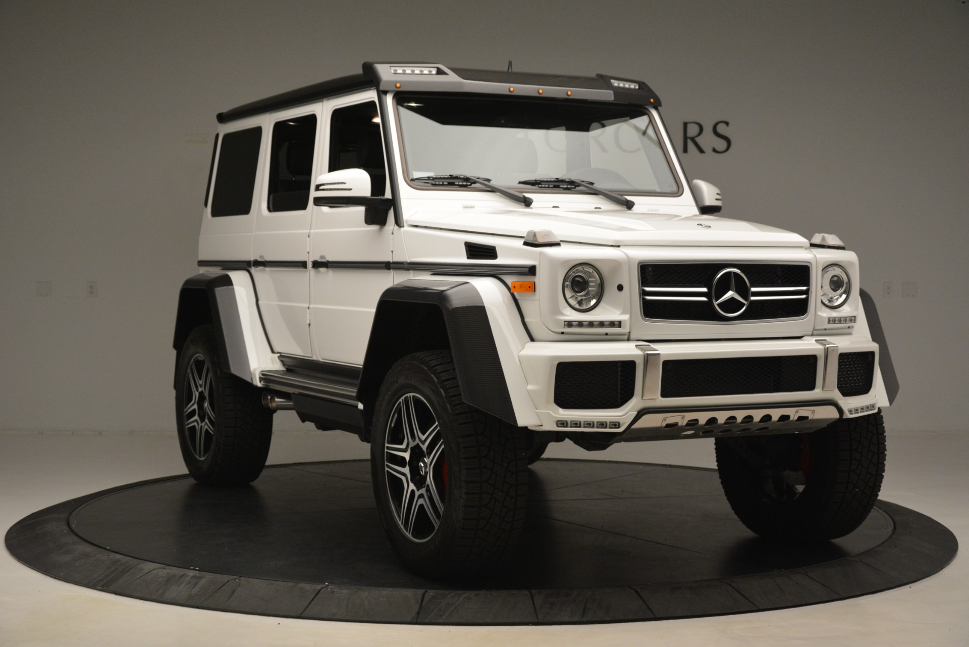 Used 2018 Mercedes-Benz G-Class G 550 4x4 Squared For Sale In Westport, CT 3204_p11