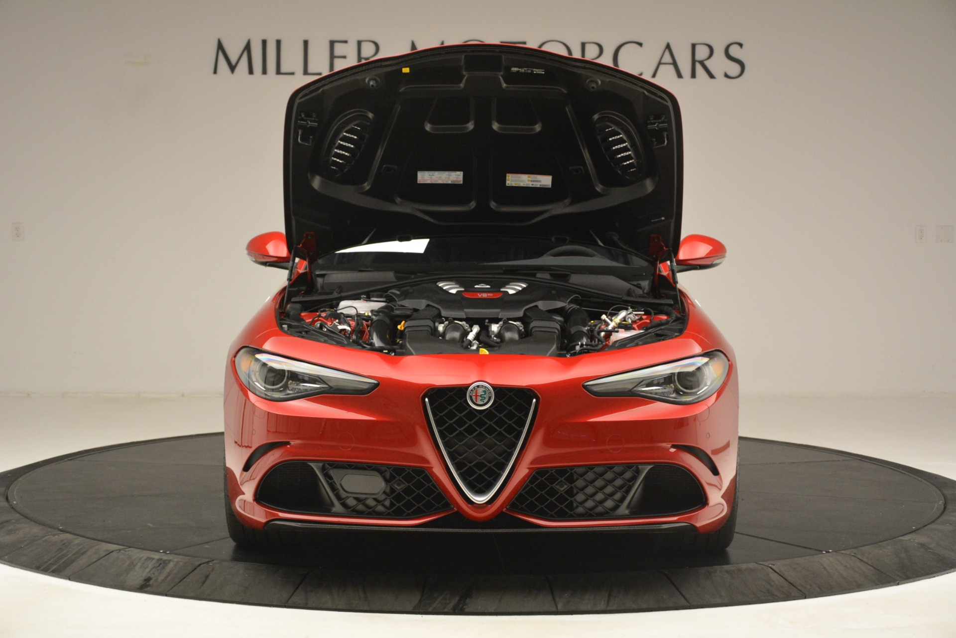New 2019 Alfa Romeo Giulia Quadrifoglio For Sale In Westport, CT 3208_p13