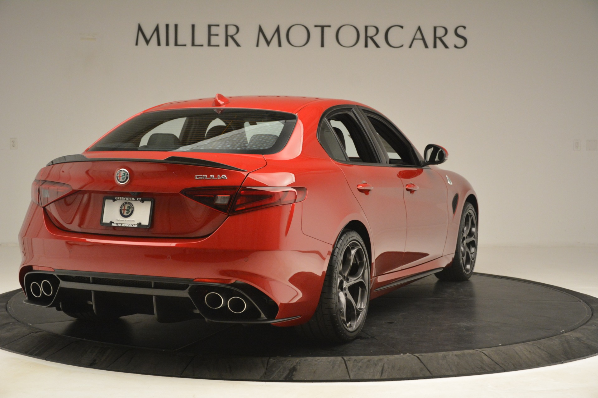 New 2019 Alfa Romeo Giulia Quadrifoglio For Sale In Westport, CT 3208_p7