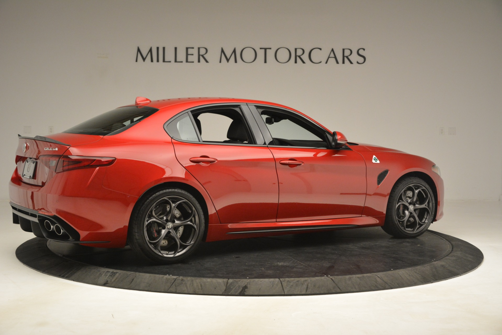 New 2019 Alfa Romeo Giulia Quadrifoglio For Sale In Westport, CT 3208_p8