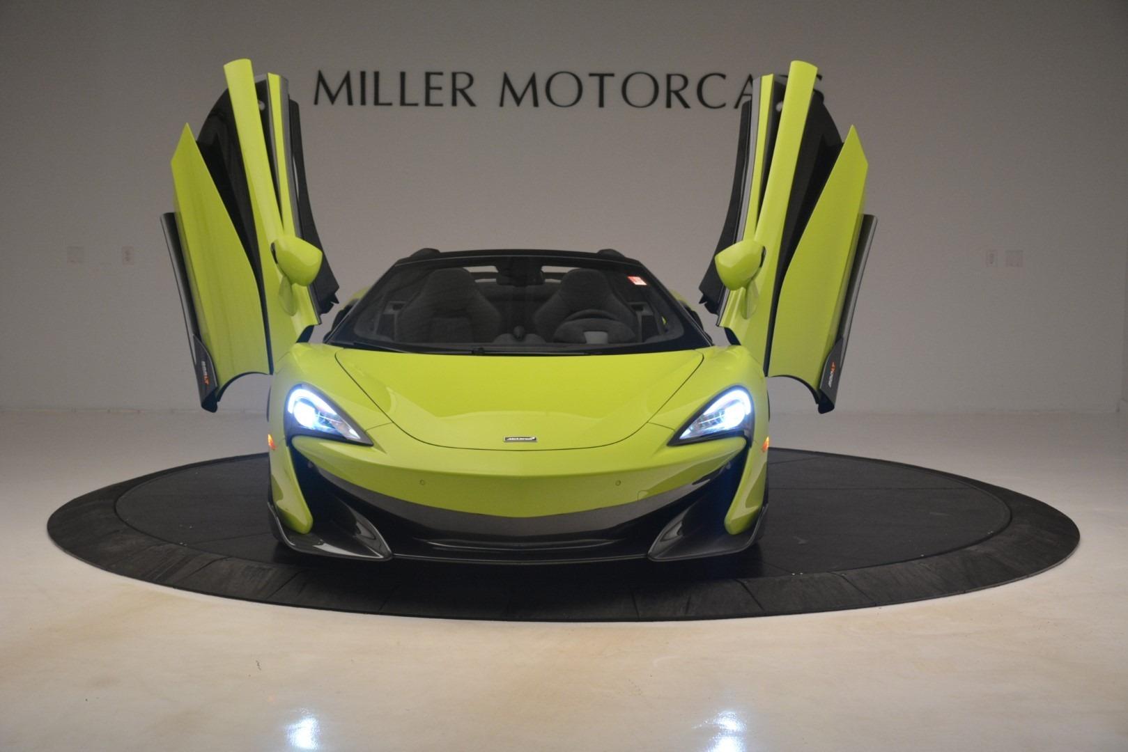 New 2020 McLaren 600LT Spider Convertible For Sale In Westport, CT 3213_p17