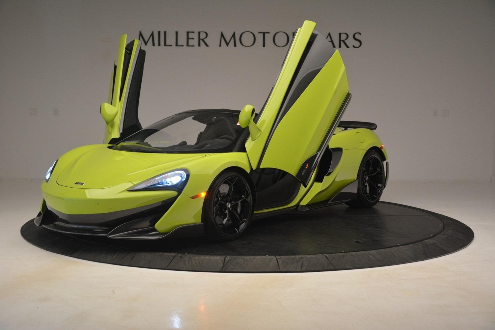 New 2020 McLaren 600LT Spider Convertible For Sale In Westport, CT 3213_p18
