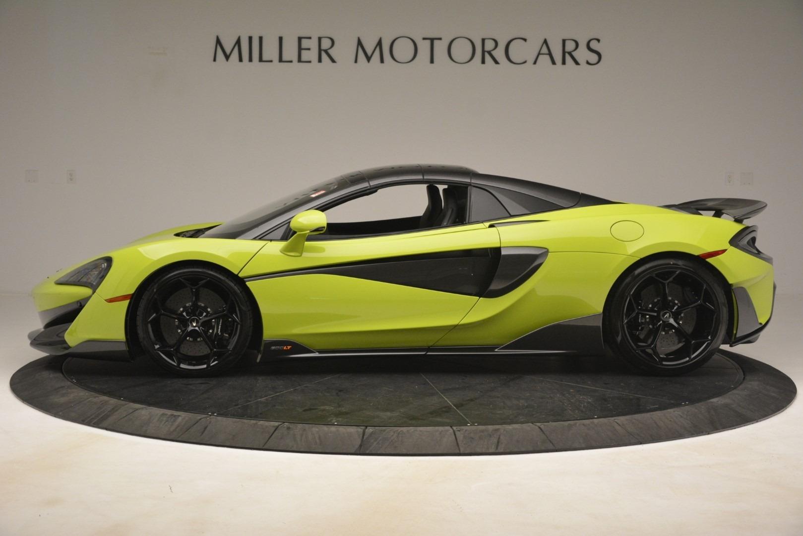 New 2020 McLaren 600LT Spider Convertible For Sale In Westport, CT 3213_p3